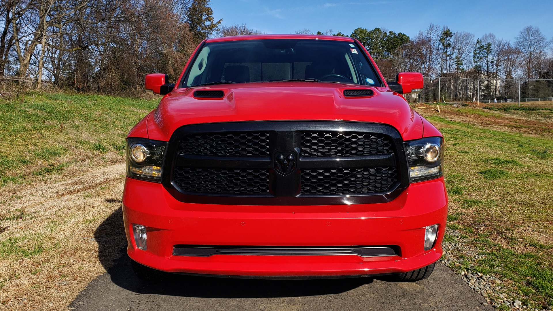 Used 2017 Ram 1500 NIGHT EDITION CREWCAB 4X4 / NAV / PARKSENSE for sale Sold at Formula Imports in Charlotte NC 28227 9