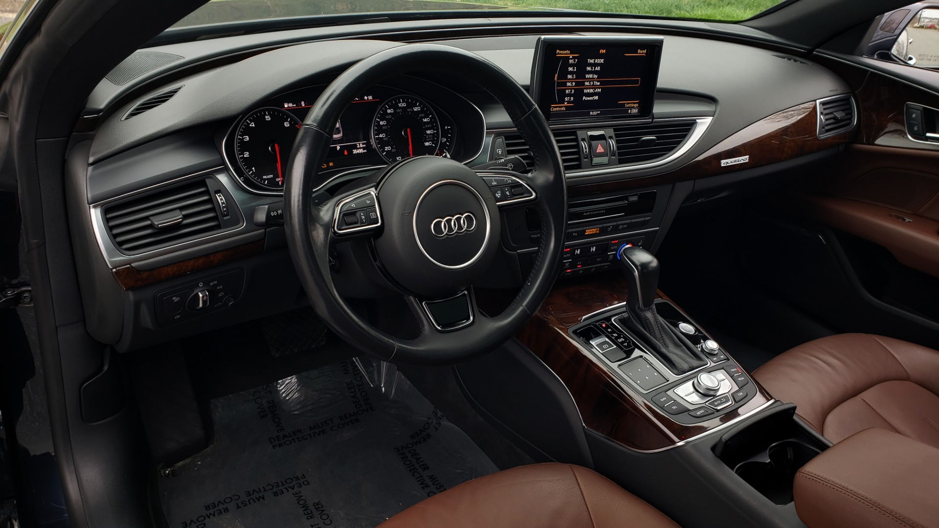 Used 2017 Audi A7 PREMIUM PLUS / SPORT / CLD WTHR / SUNROOF / REARVIEW for sale Sold at Formula Imports in Charlotte NC 28227 40
