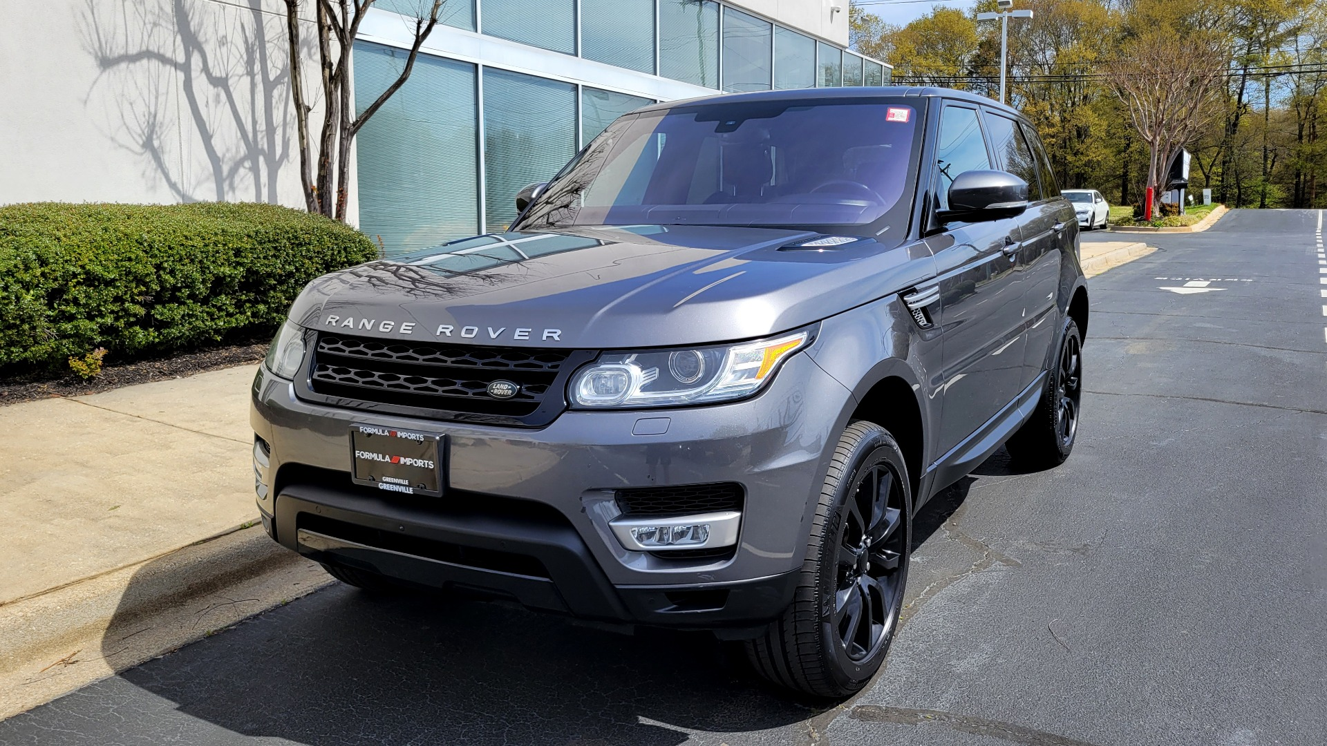 Used 2016 Land Rover RANGE ROVER SPORT SC V6 HSE / NAV / SUNROOF / REARVIEW / HTD STS / COOLER for sale Sold at Formula Imports in Charlotte NC 28227 3