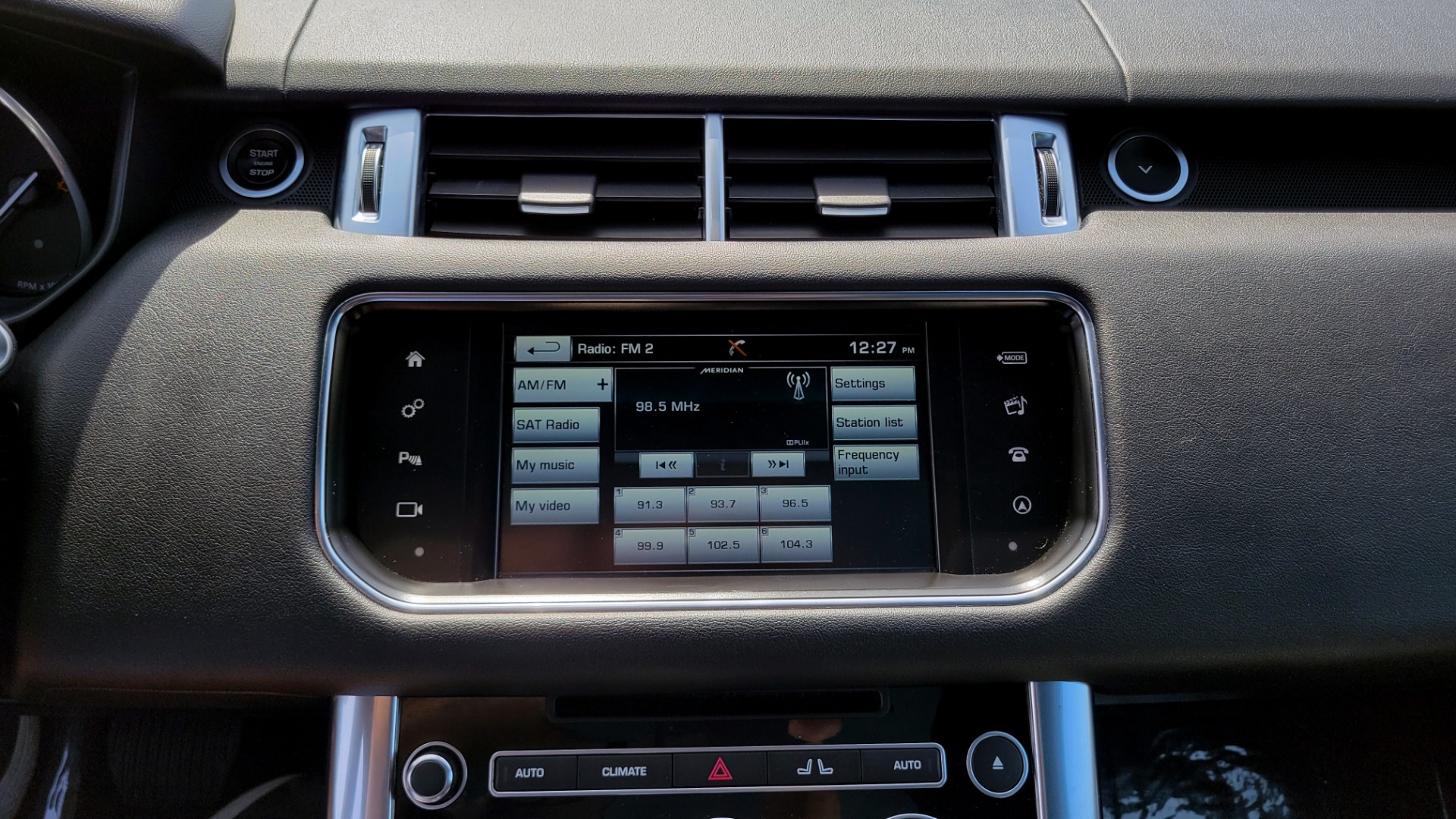 Used 2016 Land Rover RANGE ROVER SPORT SC V6 HSE / NAV / SUNROOF / REARVIEW / HTD STS / COOLER for sale Sold at Formula Imports in Charlotte NC 28227 48