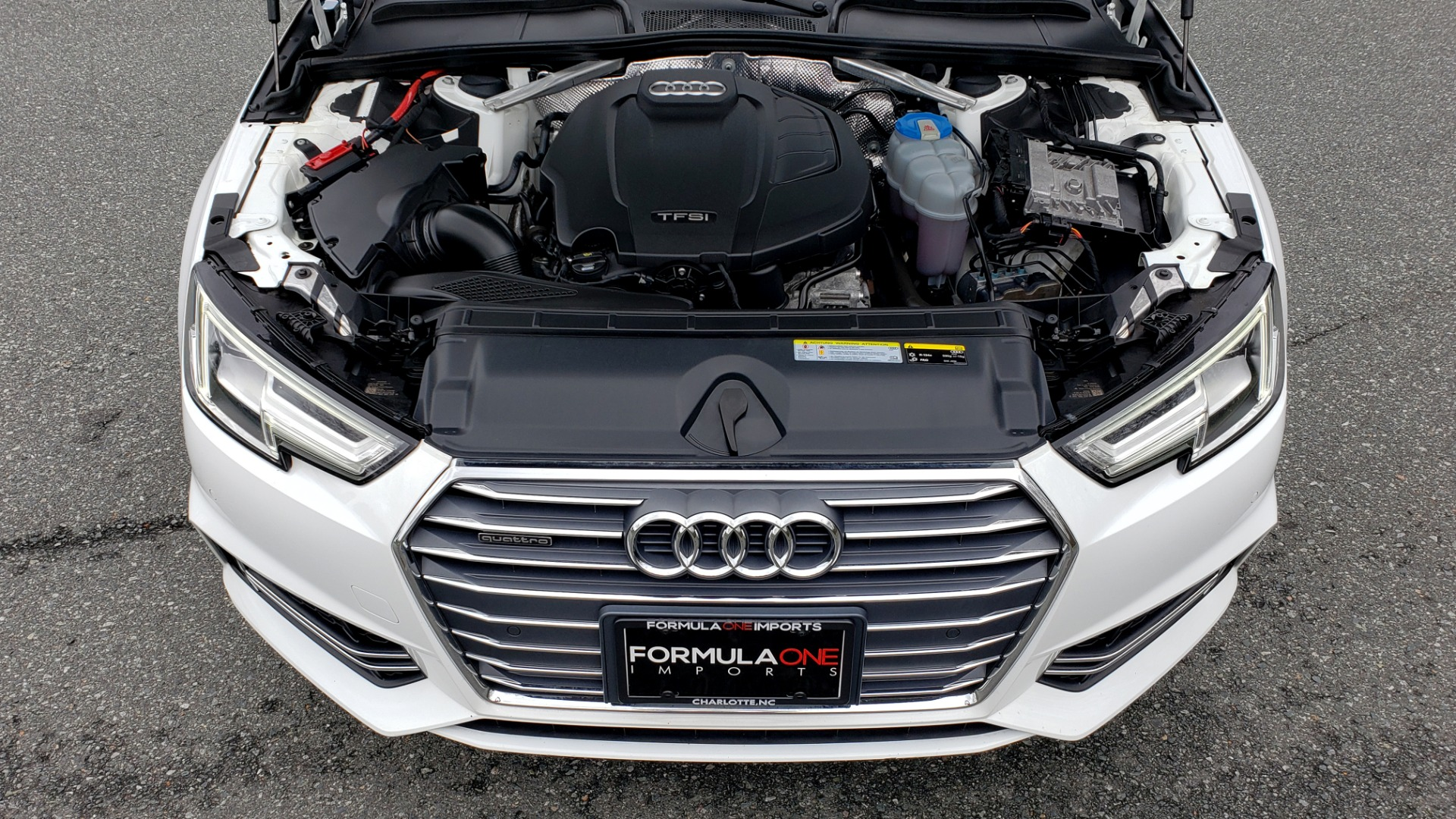 Used 2017 Audi A4 PREMIUM PLUS / TECH / CLD WTHR / NAV / SUNROOF for sale Sold at Formula Imports in Charlotte NC 28227 10