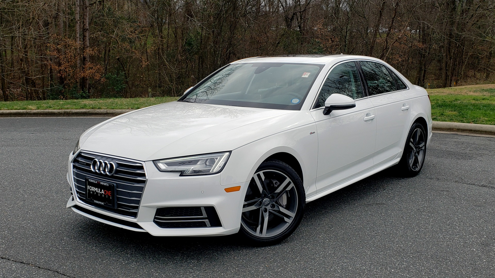 Used 2017 Audi A4 PREMIUM PLUS / TECH / CLD WTHR / NAV / SUNROOF for sale Sold at Formula Imports in Charlotte NC 28227 1