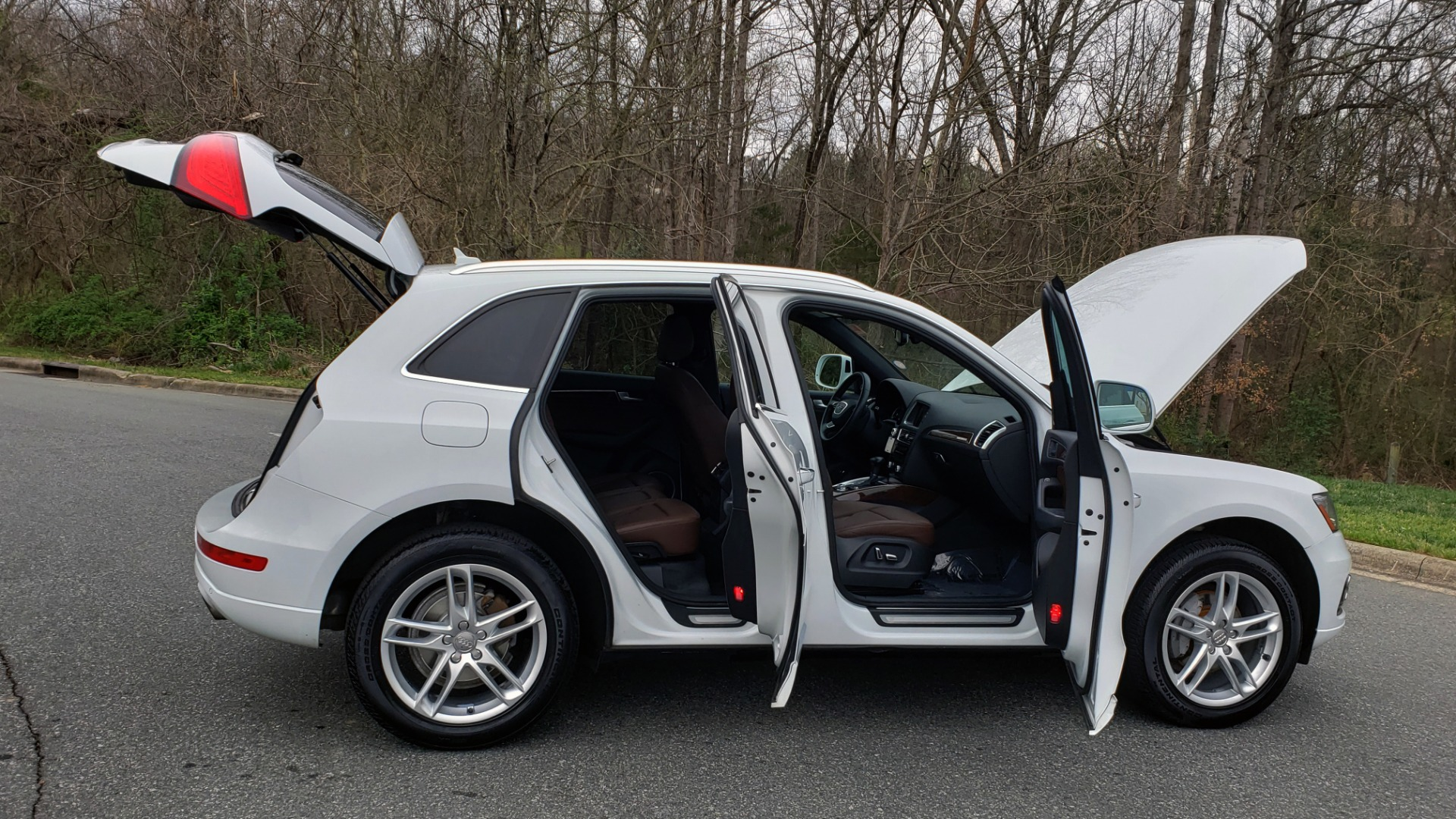 Used 2017 Audi Q5 PREMIUM PLUS / TECH / NAV / PANO-ROOF / B&O SND / REARVIEW for sale Sold at Formula Imports in Charlotte NC 28227 10