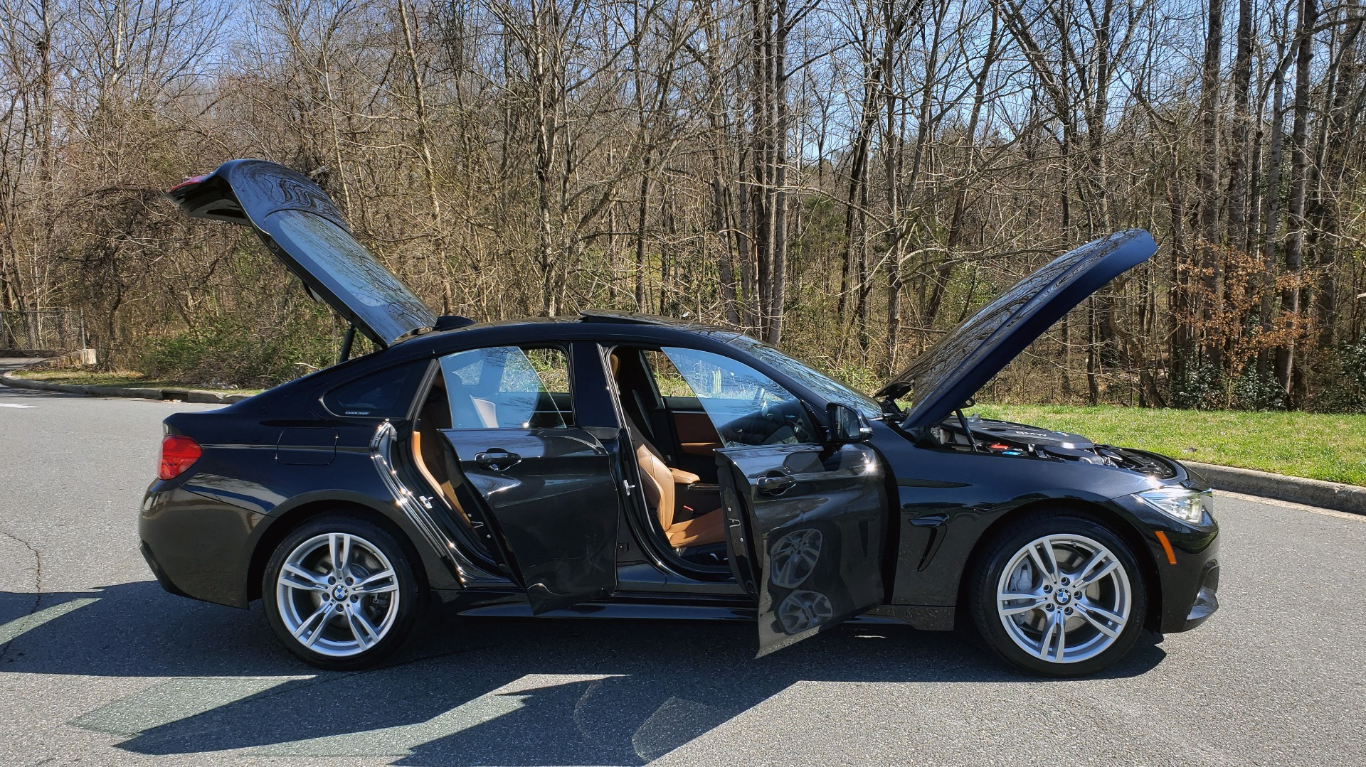 Used 2017 BMW 4 SERIES 440i XDRIVE M-SPORT / TECH / CLD WTHR / DRVR ASST PLUS / LIGHTING for sale Sold at Formula Imports in Charlotte NC 28227 12