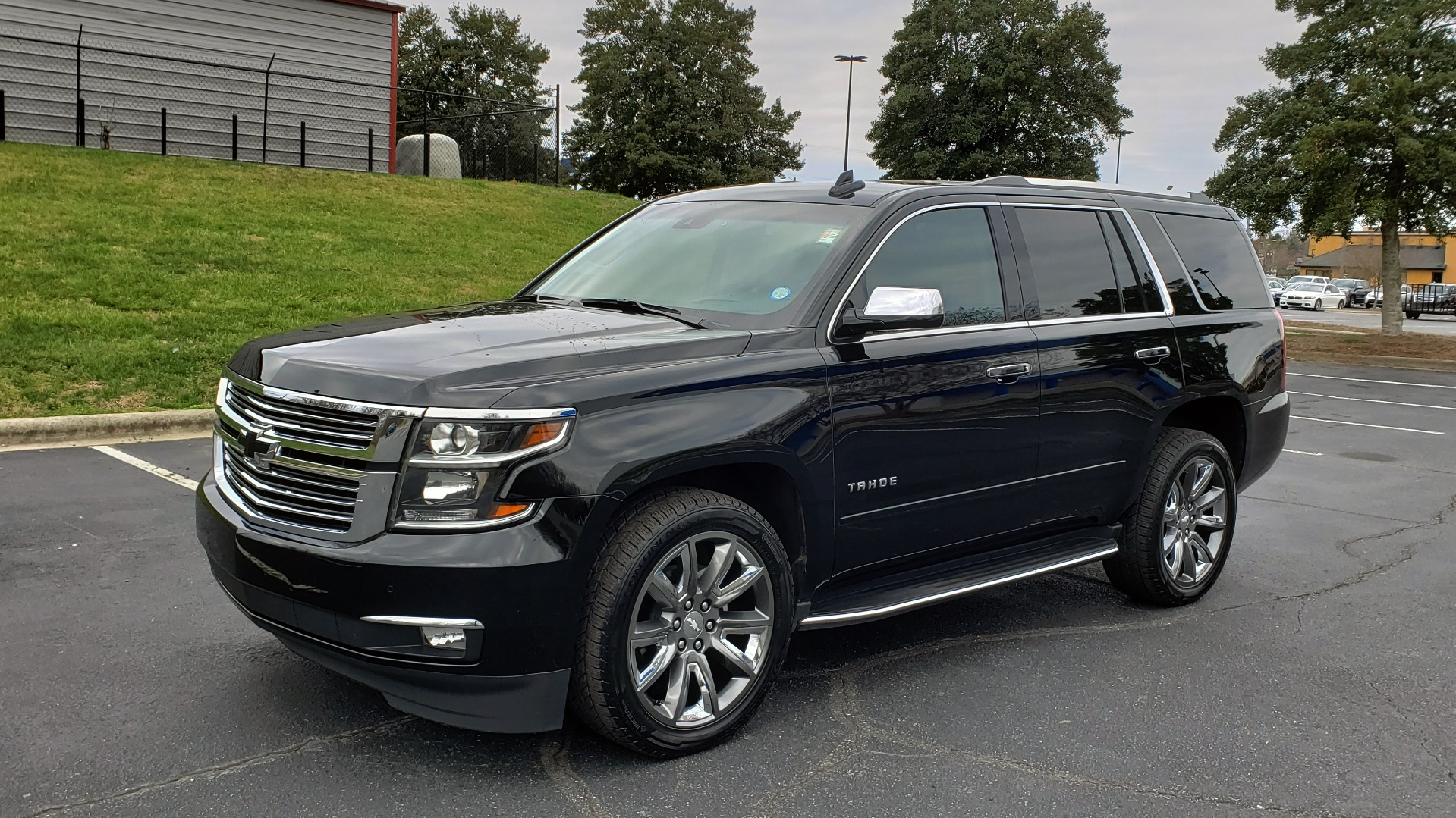 Used 2017 Chevrolet TAHOE PREMIER 4WD / NAV / SNRF / ENTERT / REARVIEW / 3-ROW for sale Sold at Formula Imports in Charlotte NC 28227 1