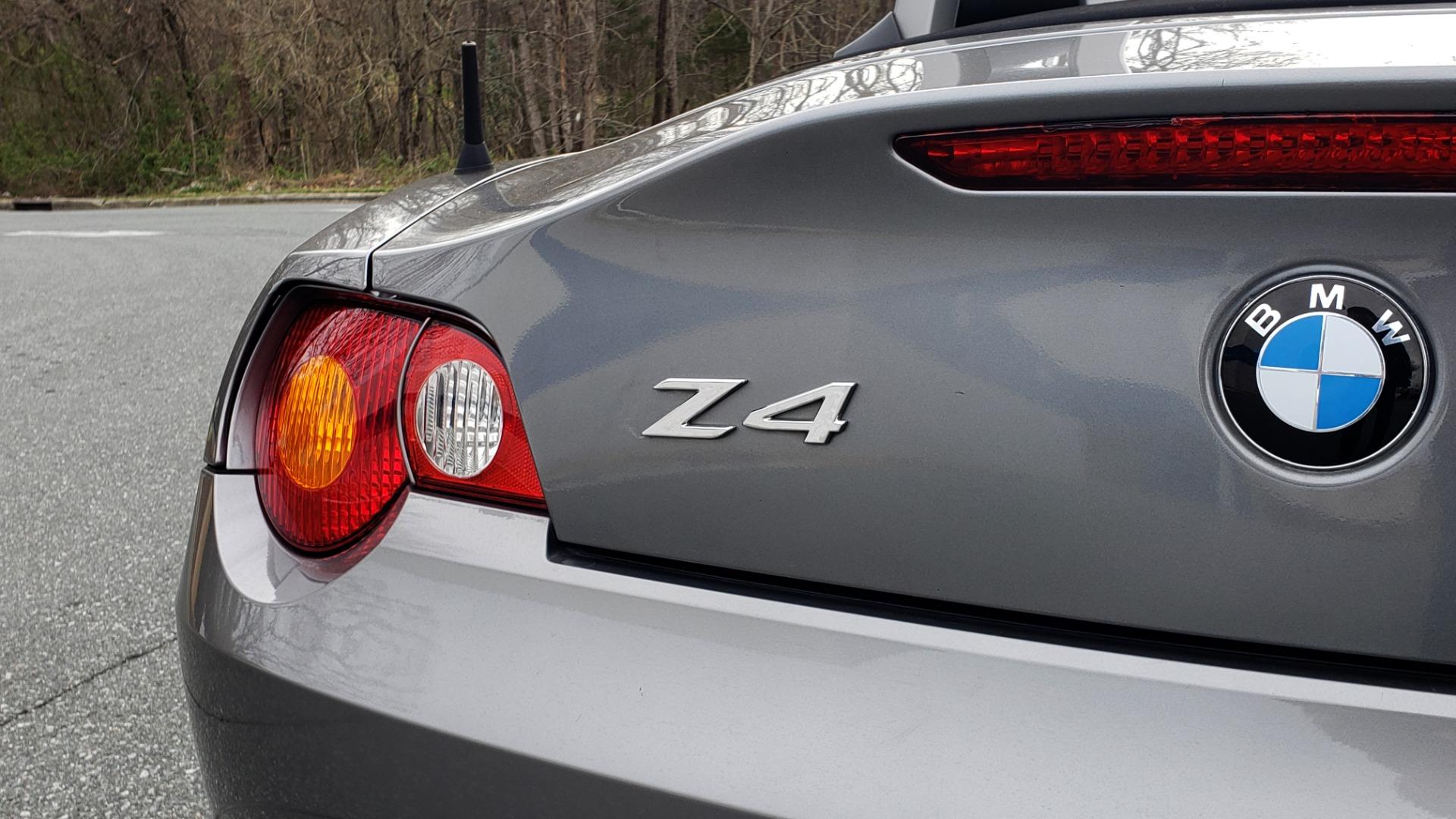 Used 2003 BMW Z4 3.0i ROADSTER / 6-SPD MAN / PREMIUM PKG / SPORT PKG / HTD STS for sale Sold at Formula Imports in Charlotte NC 28227 28