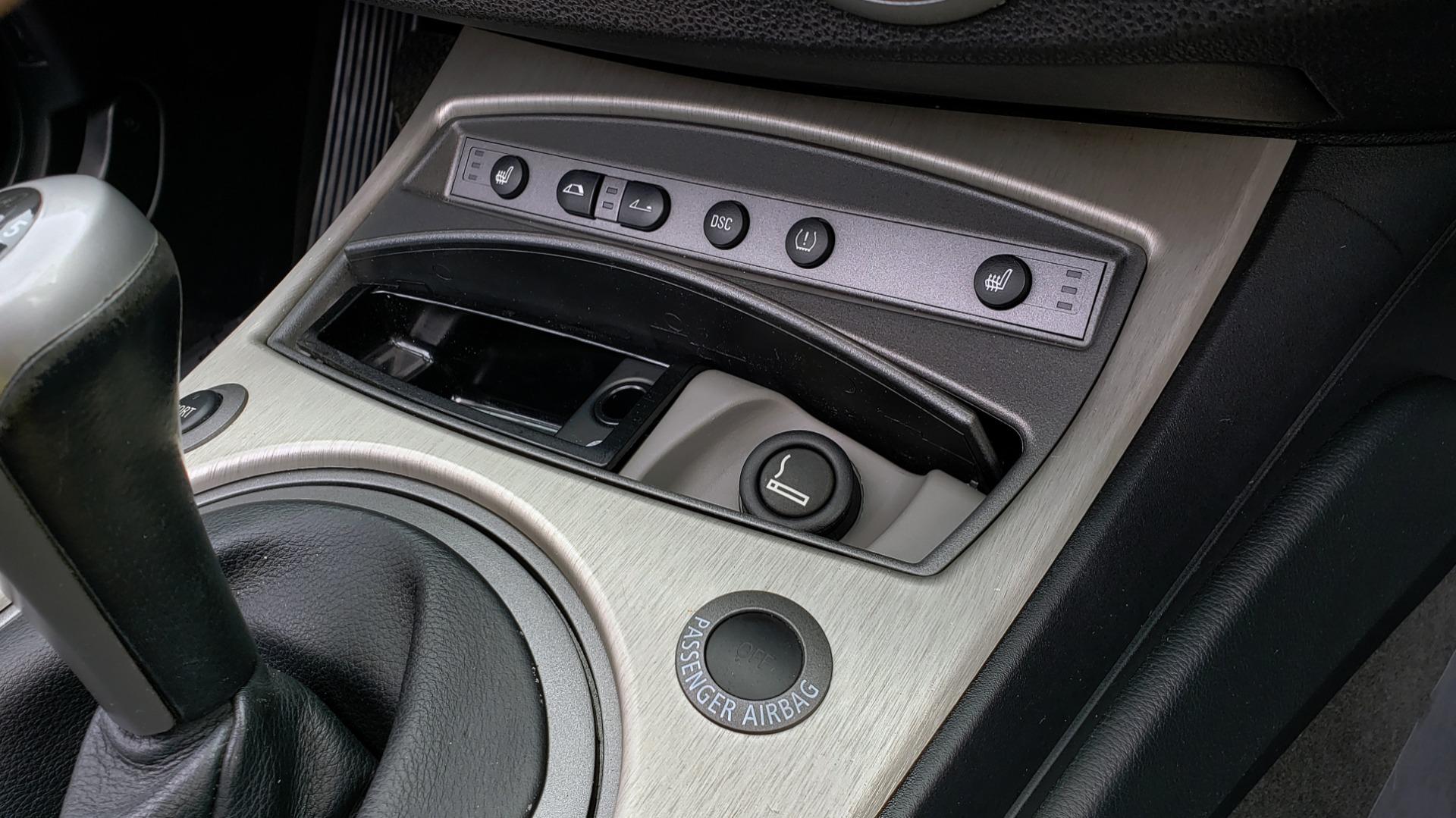 Used 2003 BMW Z4 3.0i ROADSTER / 6-SPD MAN / PREMIUM PKG / SPORT PKG / HTD STS for sale Sold at Formula Imports in Charlotte NC 28227 55