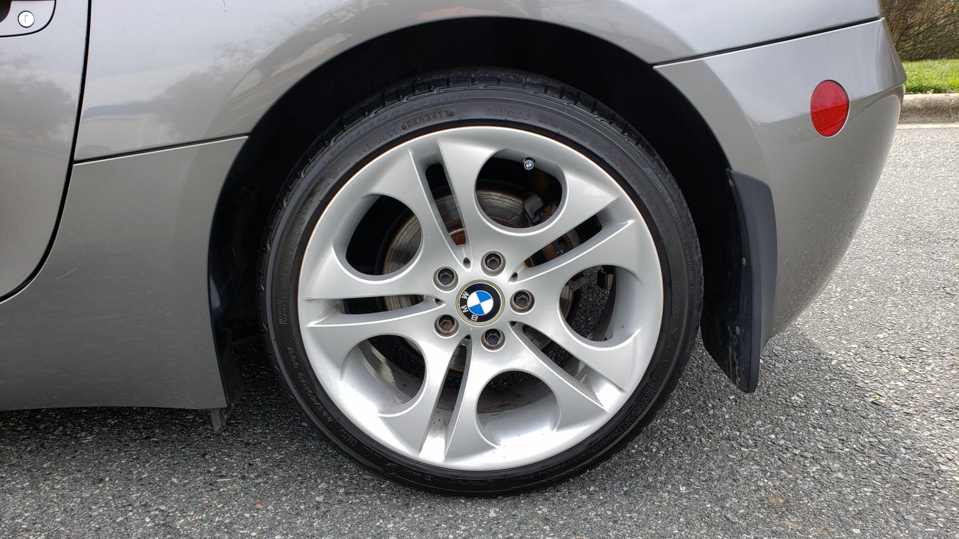 Used 2003 BMW Z4 3.0i ROADSTER / 6-SPD MAN / PREMIUM PKG / SPORT PKG / HTD STS for sale Sold at Formula Imports in Charlotte NC 28227 63