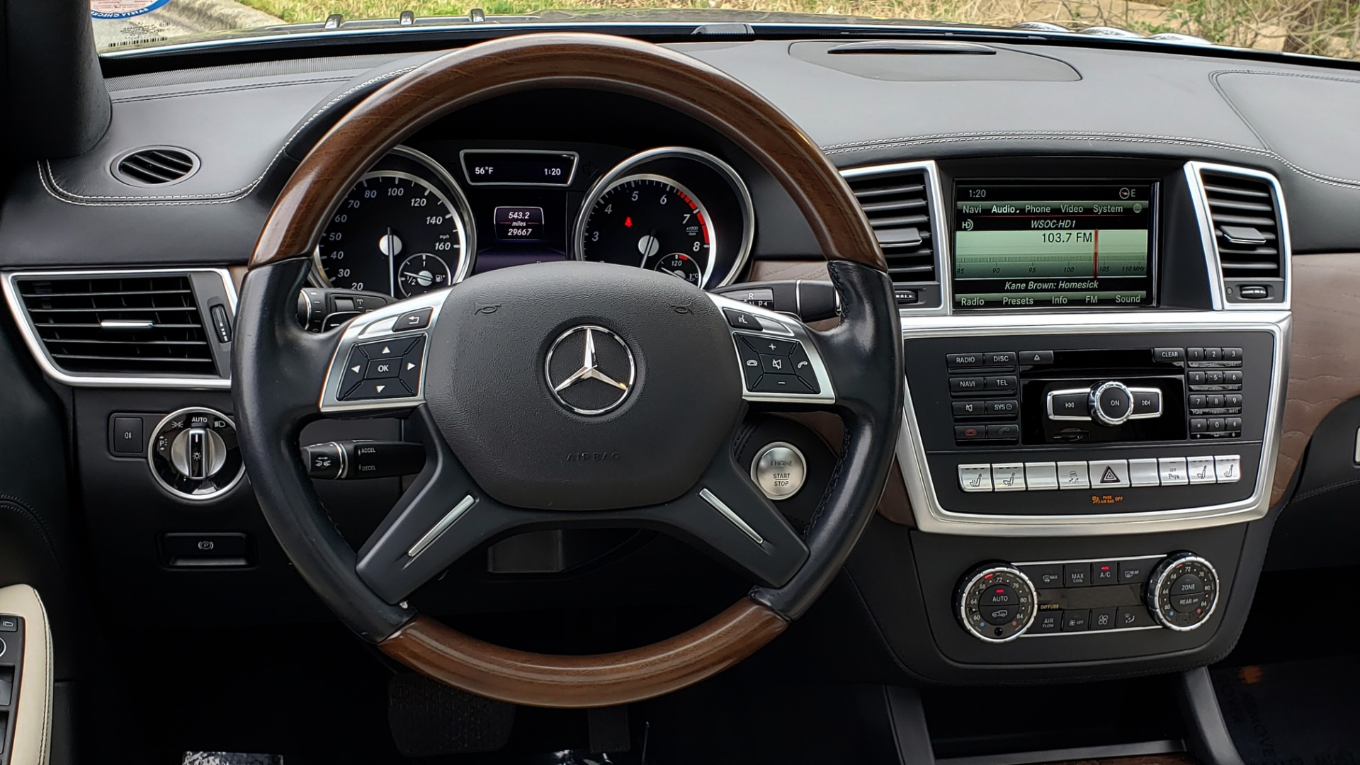 Used 2016 Mercedes-Benz GL 550 4MATIC / NAV / DRVR ASST / DUAL-ROOF / REARVIEW for sale Sold at Formula Imports in Charlotte NC 28227 42