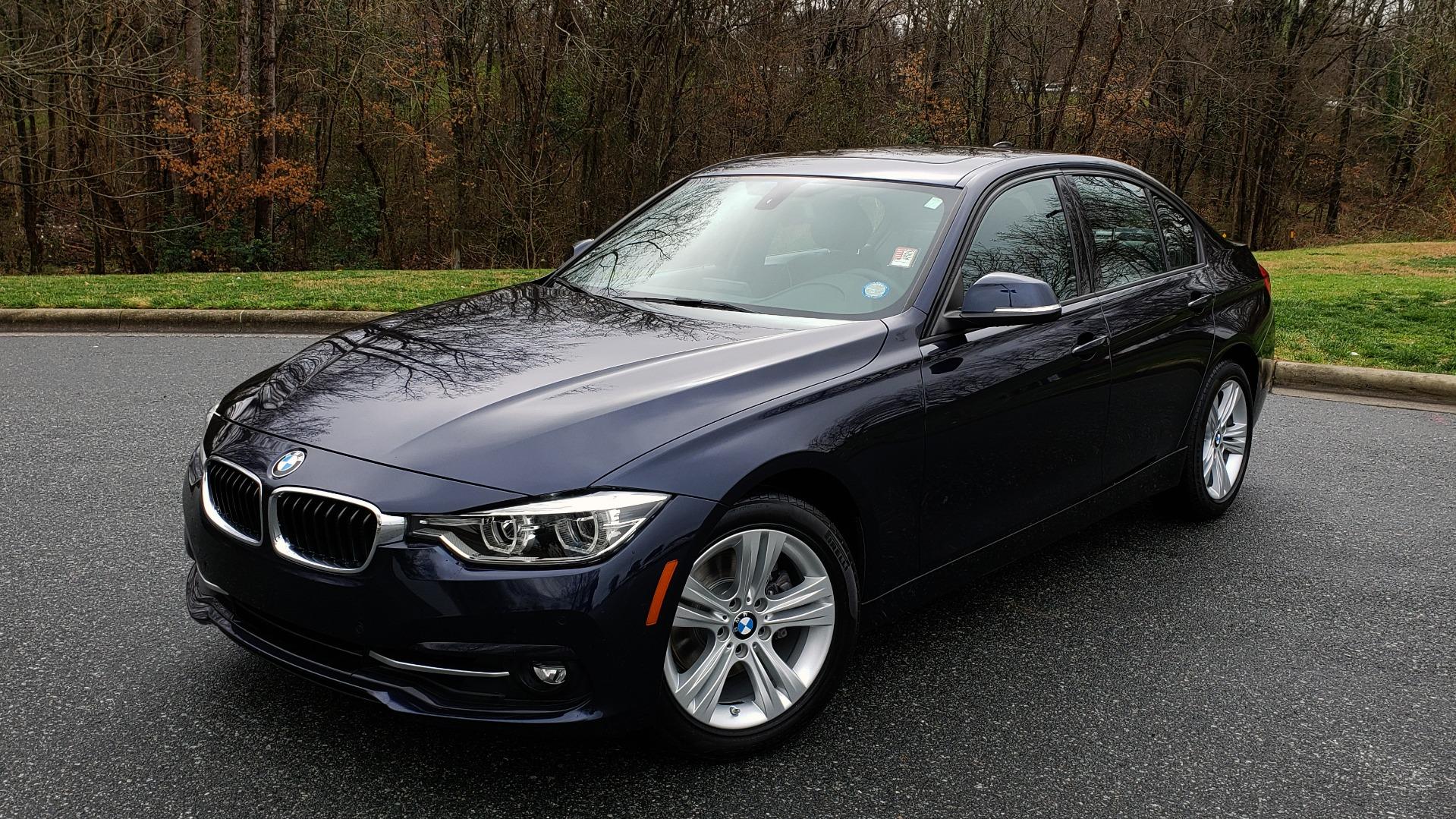 Used 2016 BMW 3 SERIES 328I PREMIUM PKG / DRVR ASST / SUNROOF / PARK ASST for sale Sold at Formula Imports in Charlotte NC 28227 1