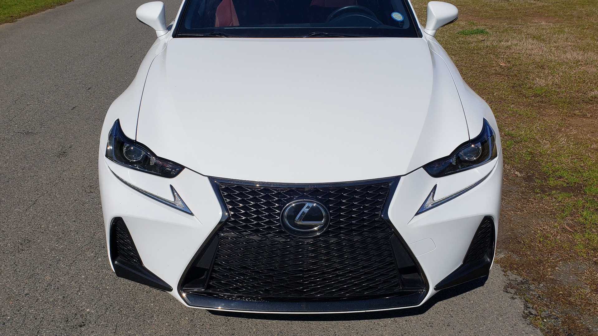 Used 2017 Lexus IS 200T F-SPORT / SUNROOF / REARVIEW / VENT SEATS for sale Sold at Formula Imports in Charlotte NC 28227 12