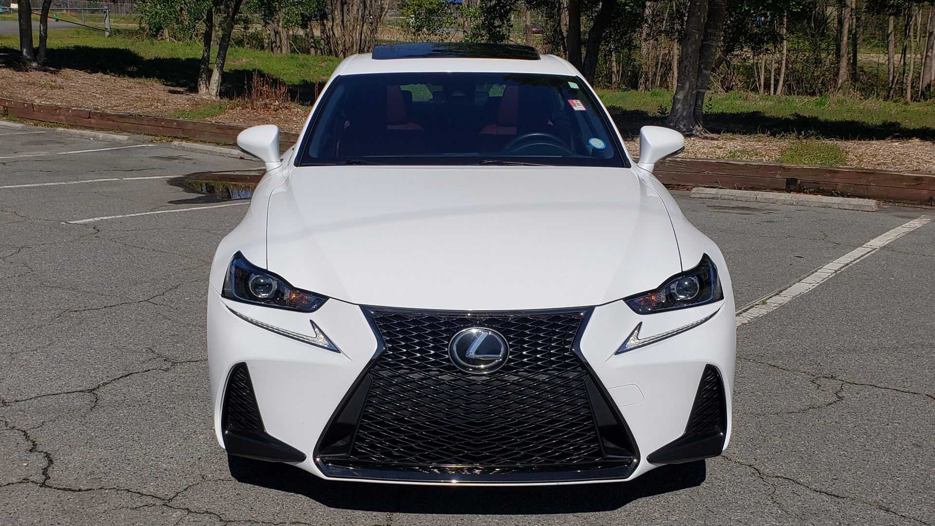 Used 2017 Lexus IS 200T F-SPORT / SUNROOF / REARVIEW / VENT SEATS for sale Sold at Formula Imports in Charlotte NC 28227 17