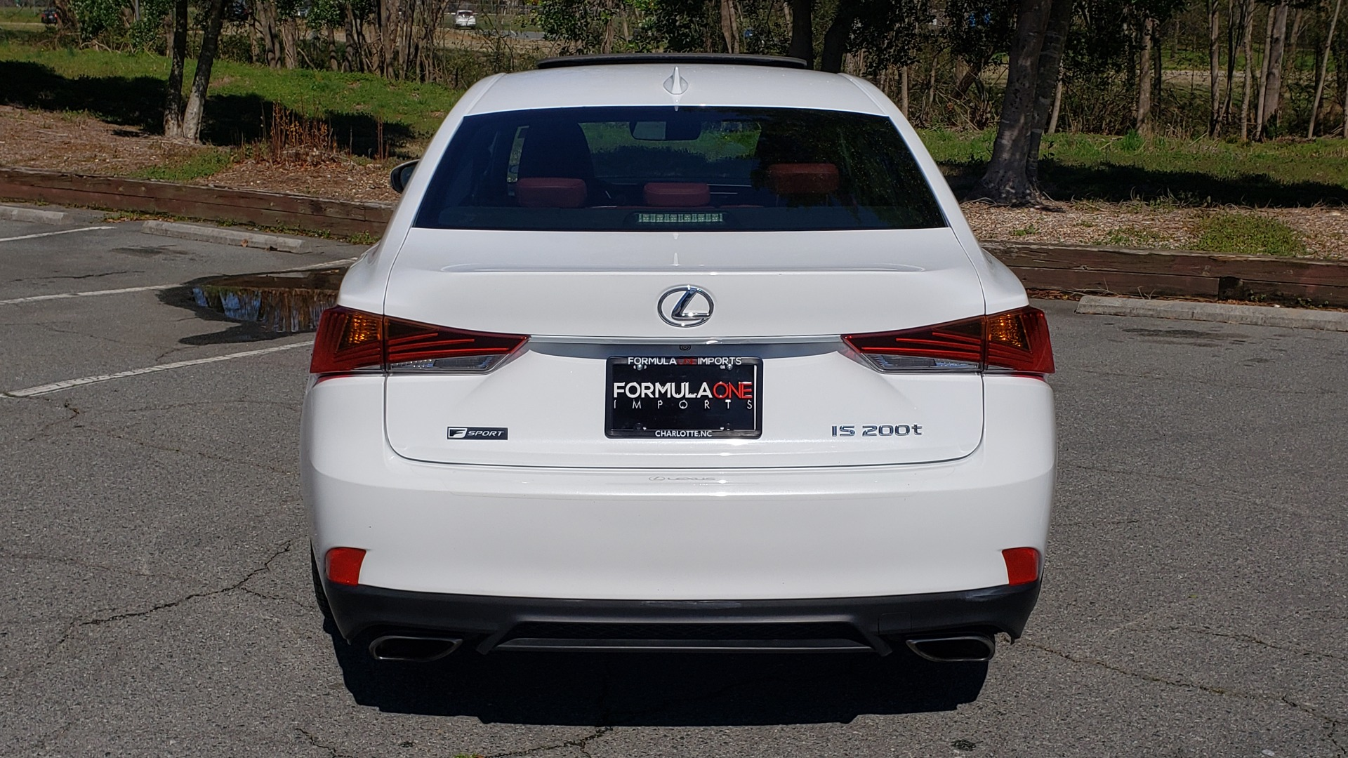 Used 2017 Lexus IS 200T F-SPORT / SUNROOF / REARVIEW / VENT SEATS for sale Sold at Formula Imports in Charlotte NC 28227 23