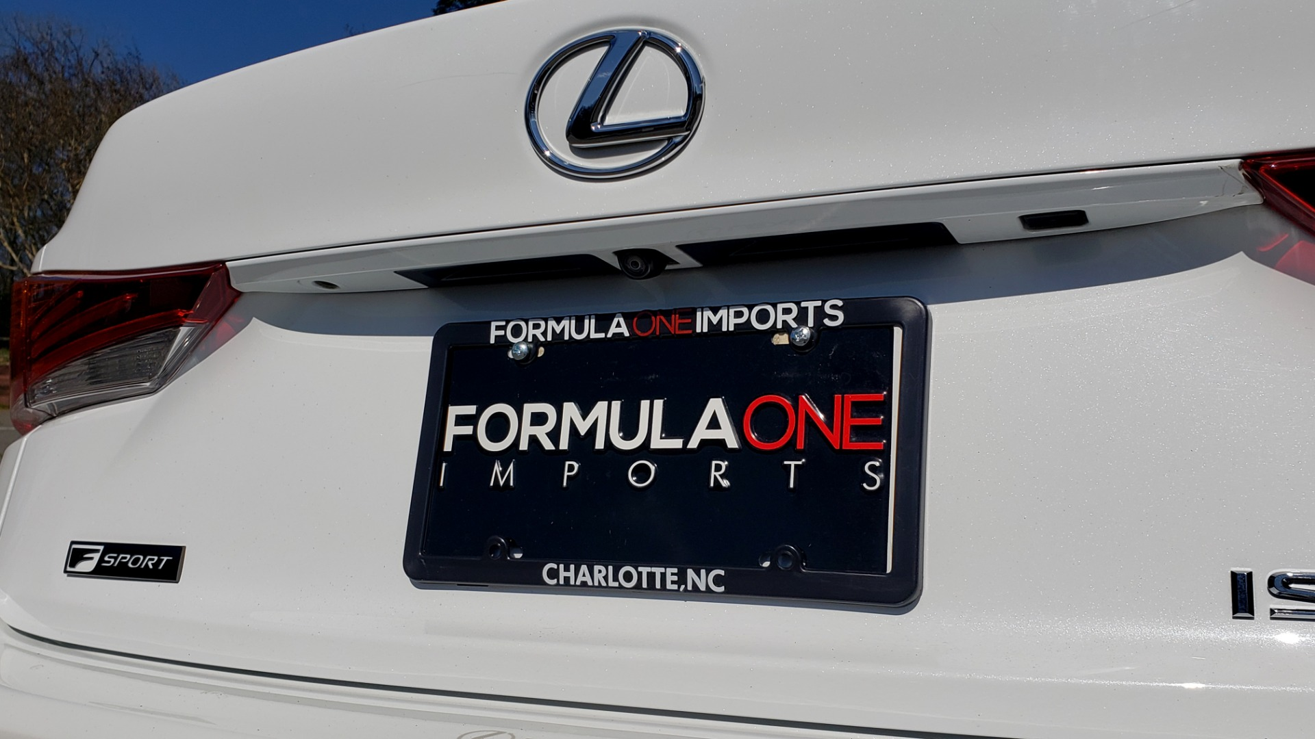 Used 2017 Lexus IS 200T F-SPORT / SUNROOF / REARVIEW / VENT SEATS for sale Sold at Formula Imports in Charlotte NC 28227 26