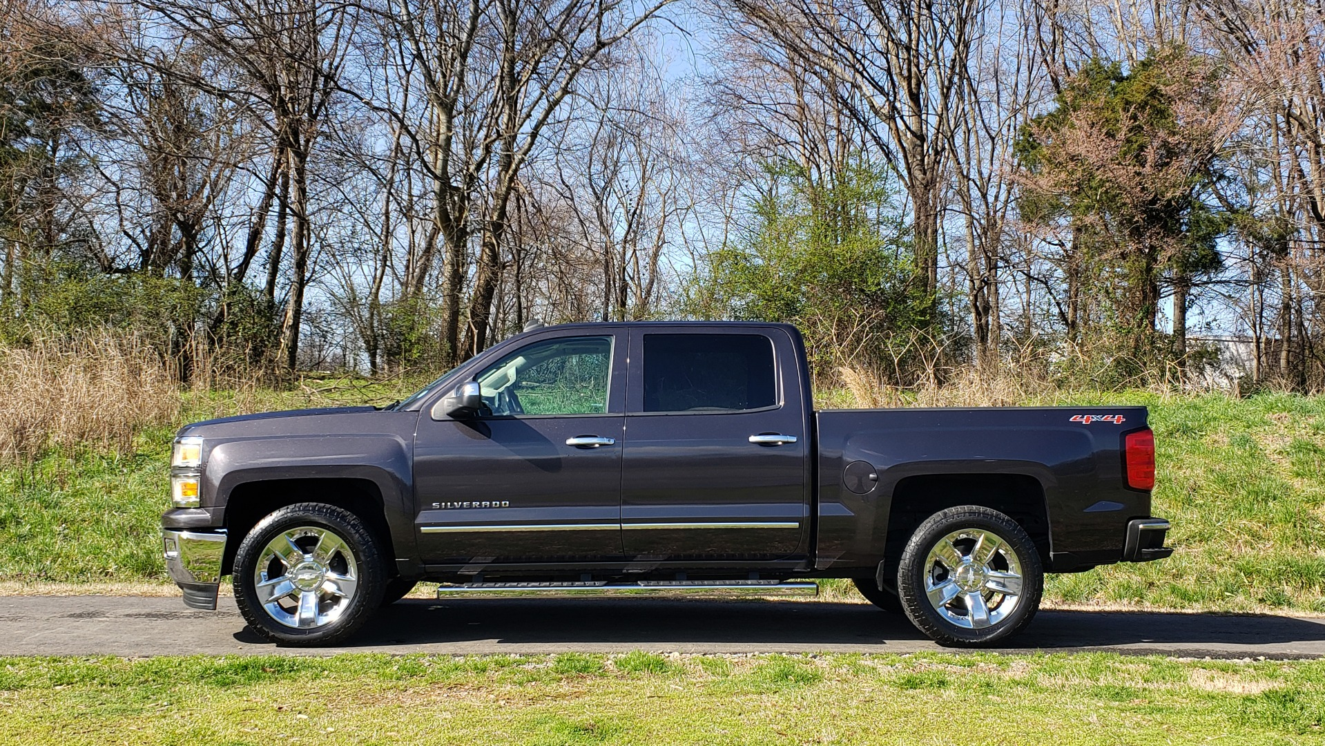 Used 2014 Chevrolet SILVERADO 1500 LTZ 4WD 1LZ / NAV / SUNROOF / REARVIEW / HITCH for sale Sold at Formula Imports in Charlotte NC 28227 2