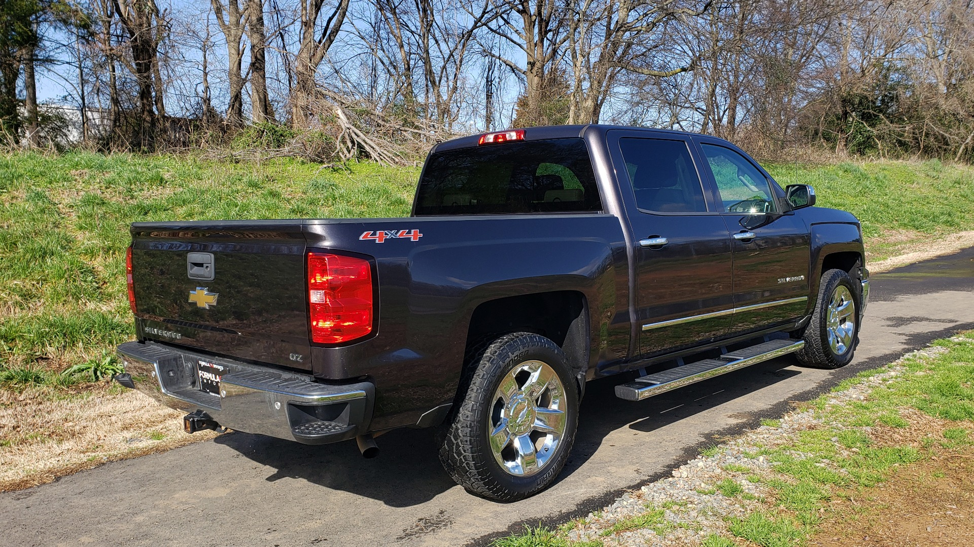 Used 2014 Chevrolet SILVERADO 1500 LTZ 4WD 1LZ / NAV / SUNROOF / REARVIEW / HITCH for sale Sold at Formula Imports in Charlotte NC 28227 6