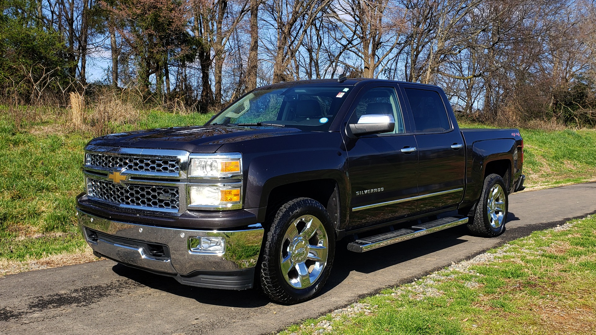 Used 2014 Chevrolet SILVERADO 1500 LTZ 4WD 1LZ / NAV / SUNROOF / REARVIEW / HITCH for sale Sold at Formula Imports in Charlotte NC 28227 1