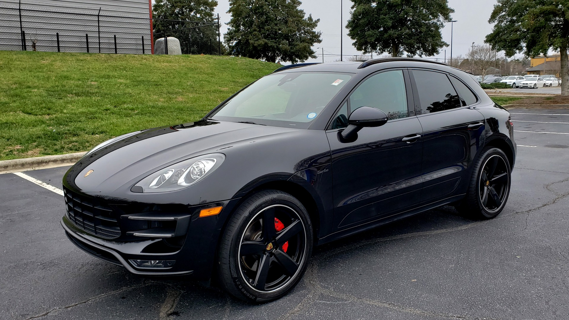 Used 2016 Porsche MACAN TURBO / PREM / NAV / PARK ASST / BOSE / PDK / CHRONO PKG for sale Sold at Formula Imports in Charlotte NC 28227 1