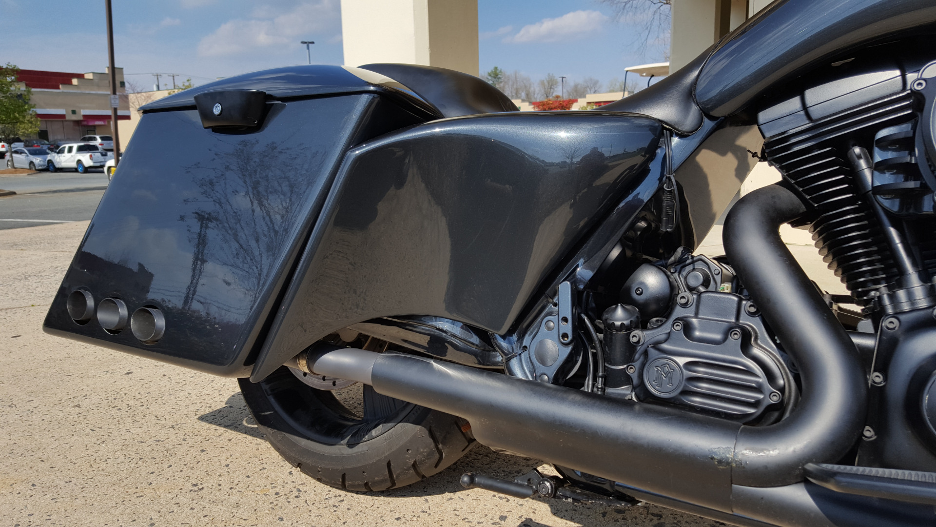 Used 2012 Harley-Davidson ROAD GLIDE NASI BAGGER for sale Sold at Formula Imports in Charlotte NC 28227 11
