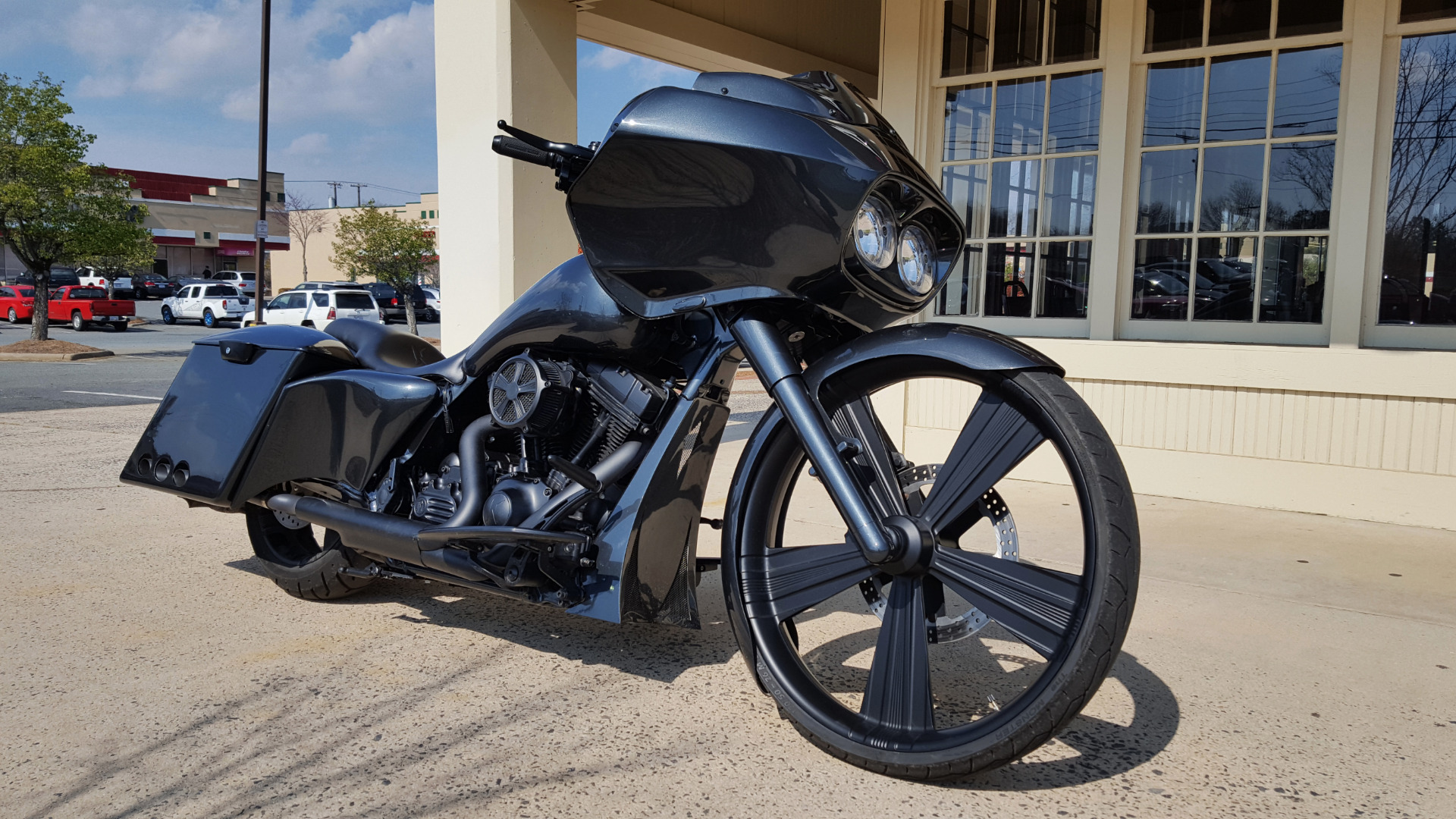 Used 2012 Harley-Davidson ROAD GLIDE NASI BAGGER for sale Sold at Formula Imports in Charlotte NC 28227 2
