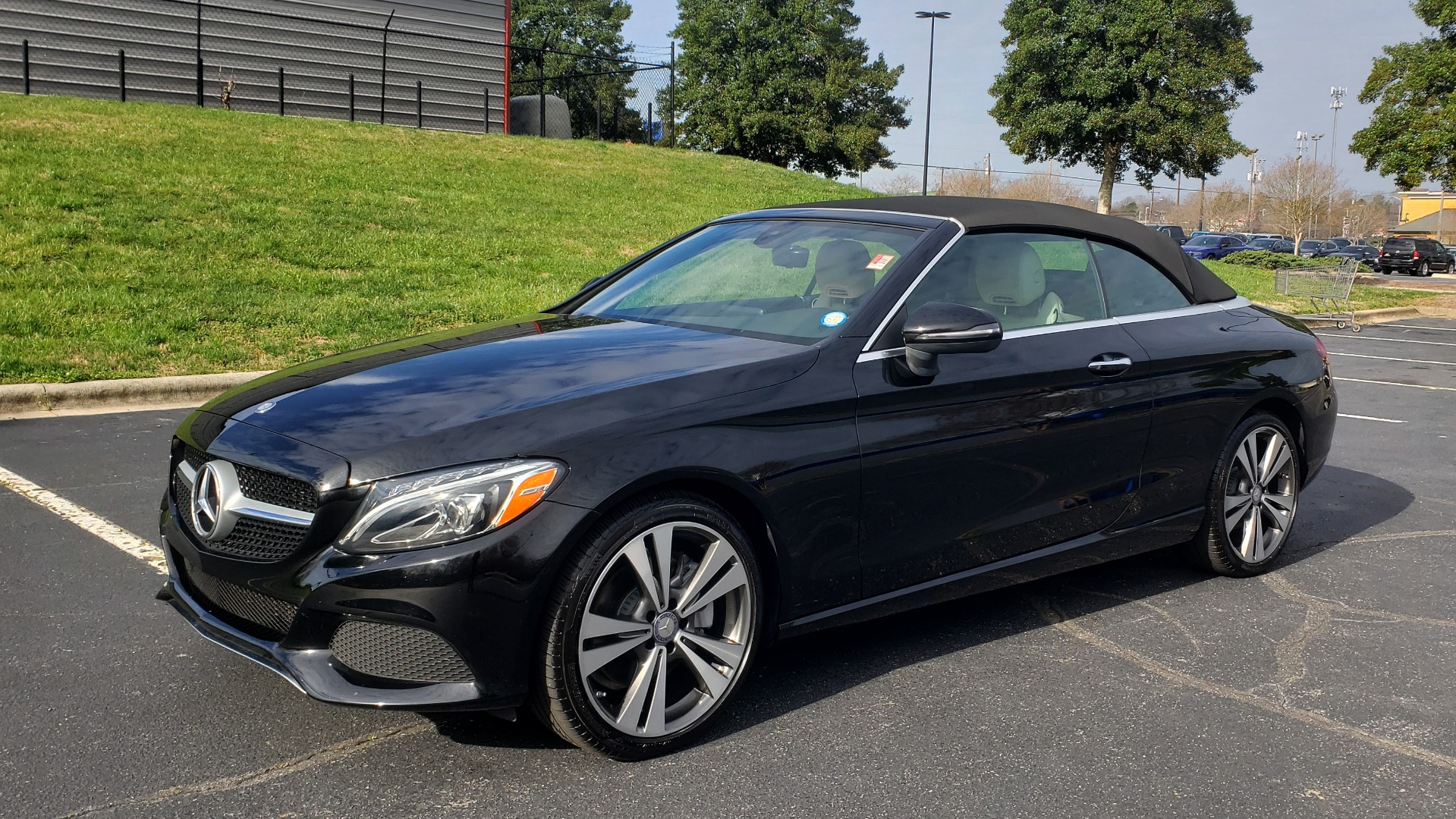 Used 2017 Mercedes-Benz C-Class C 300 CABRIOLET SPORT / PREMIUM / NAV / BURMESTER SOUND for sale Sold at Formula Imports in Charlotte NC 28227 2