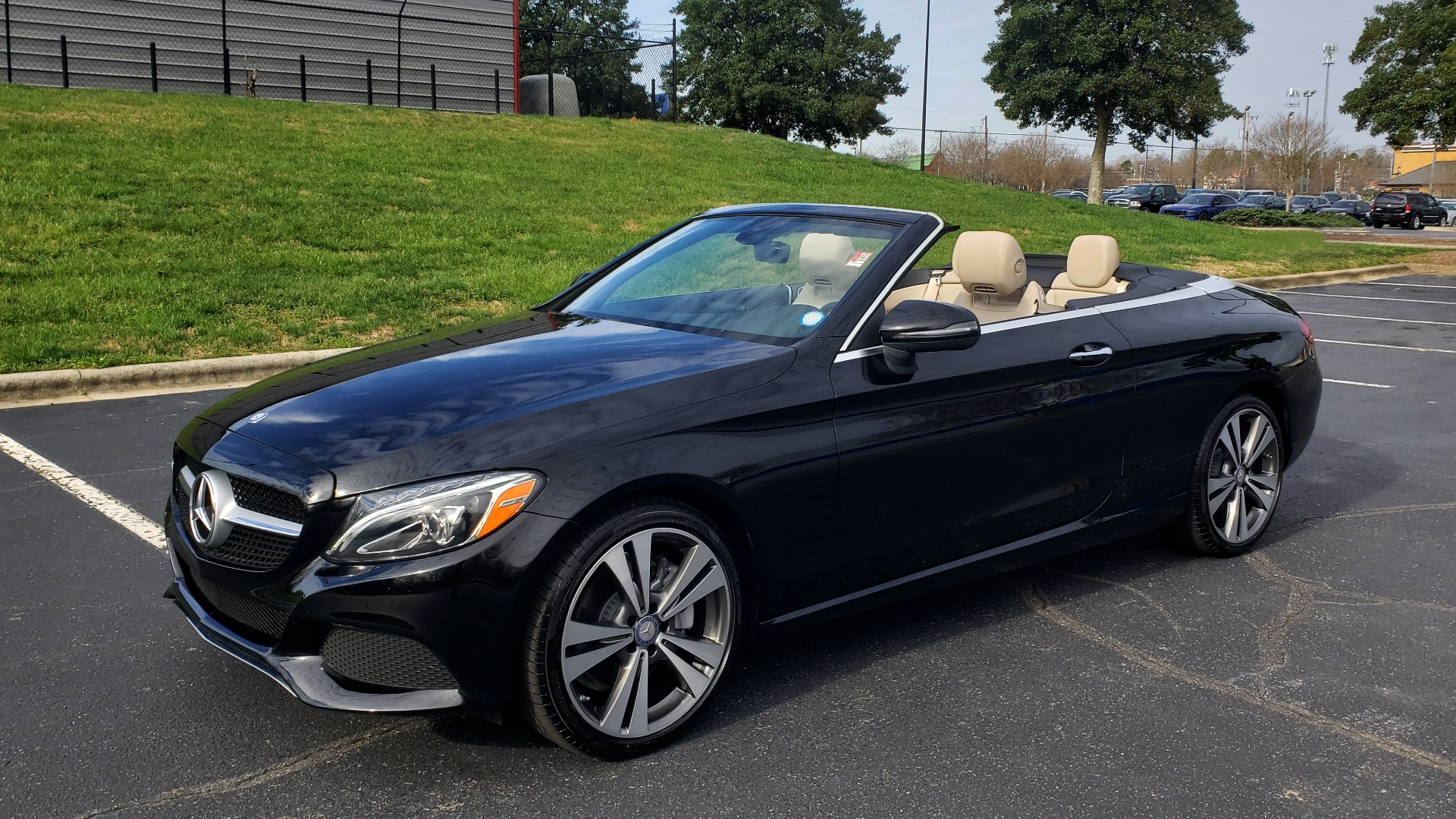 Used 2017 Mercedes-Benz C-Class C 300 CABRIOLET SPORT / PREMIUM / NAV / BURMESTER SOUND for sale Sold at Formula Imports in Charlotte NC 28227 1