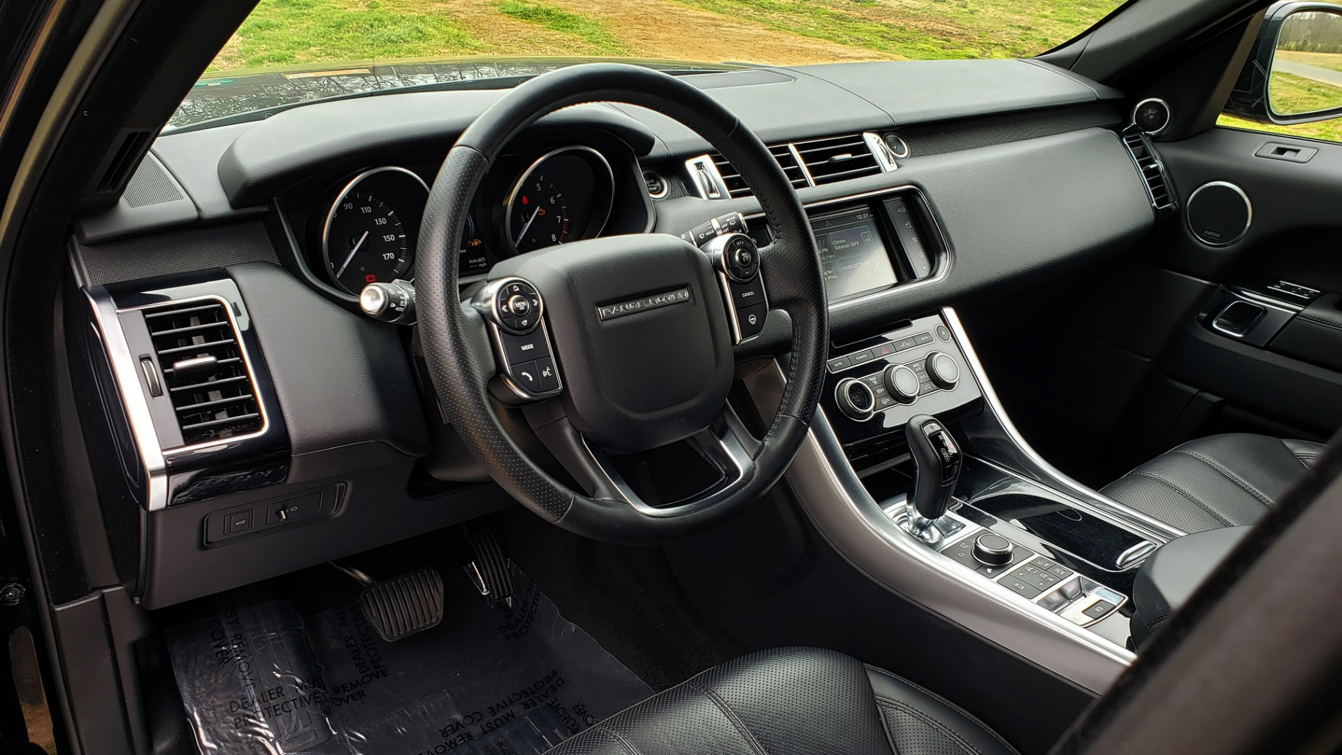 Used 2016 Land Rover RANGE ROVER SPORT V6 HSE 4WD / NAV / SUNROOF / HTD STS / REARVIEW for sale Sold at Formula Imports in Charlotte NC 28227 44