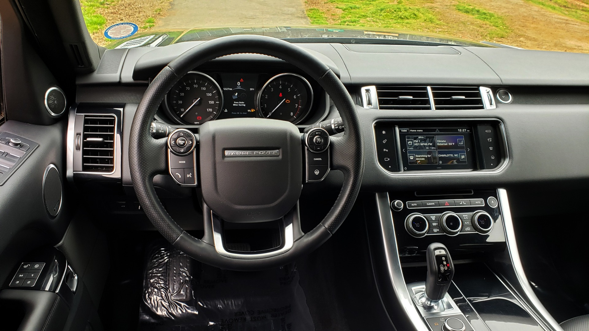 Used 2016 Land Rover RANGE ROVER SPORT V6 HSE 4WD / NAV / SUNROOF / HTD STS / REARVIEW for sale Sold at Formula Imports in Charlotte NC 28227 45