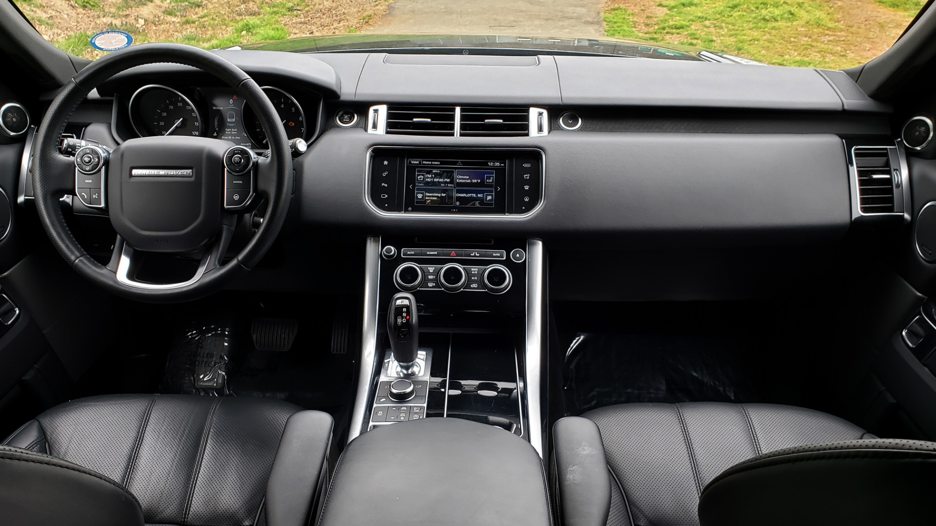 Used 2016 Land Rover RANGE ROVER SPORT V6 HSE 4WD / NAV / SUNROOF / HTD STS / REARVIEW for sale Sold at Formula Imports in Charlotte NC 28227 86