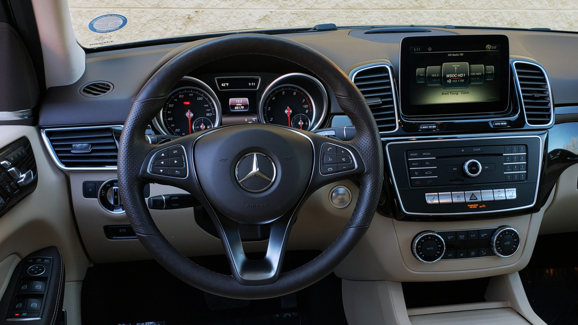 Used 2017 Mercedes-Benz GLE 350 PREMIUM / NAV / SUNROOF / PARK ASST / HTD STS for sale Sold at Formula Imports in Charlotte NC 28227 39