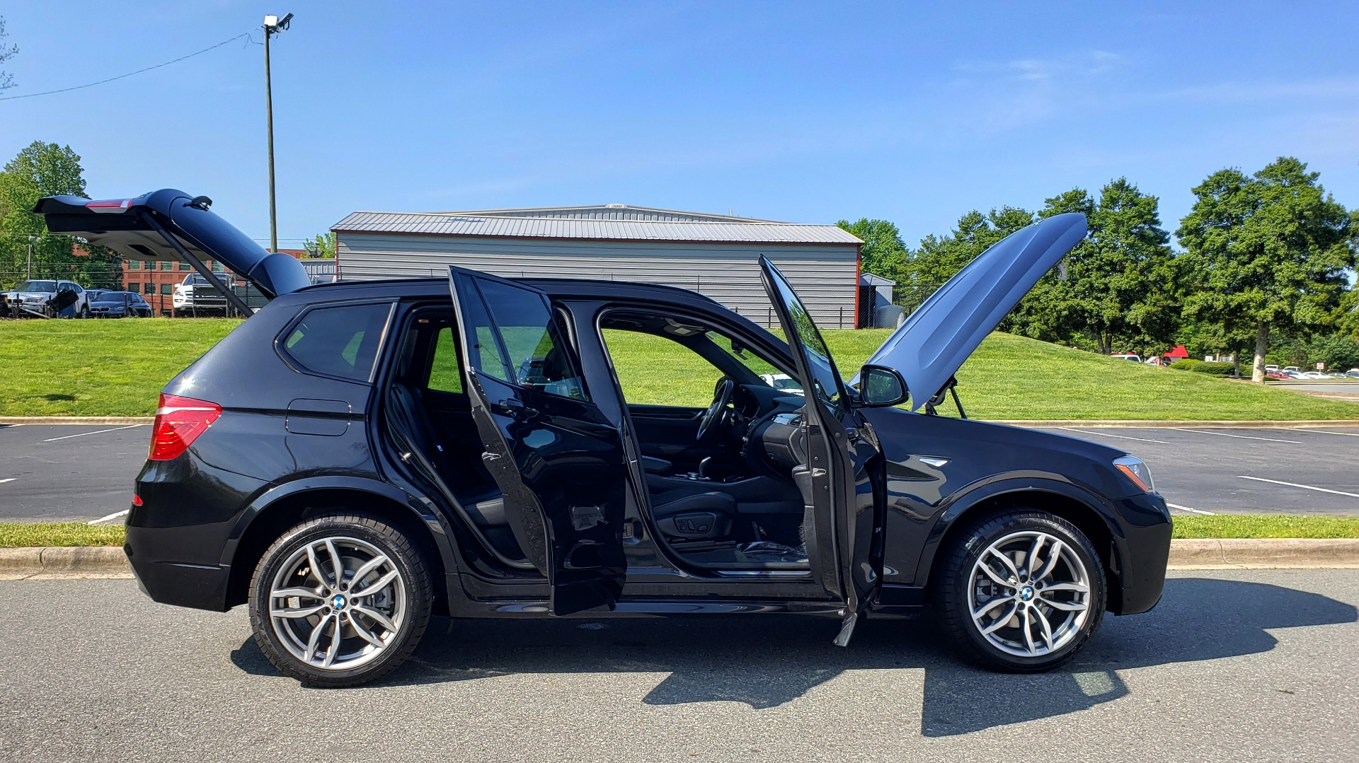 Used 2017 BMW X3 XDRIVE35I / M-SPORT / DRVR ASST / CLD WTHR / NAV / ROOF / HTD STS for sale Sold at Formula Imports in Charlotte NC 28227 10