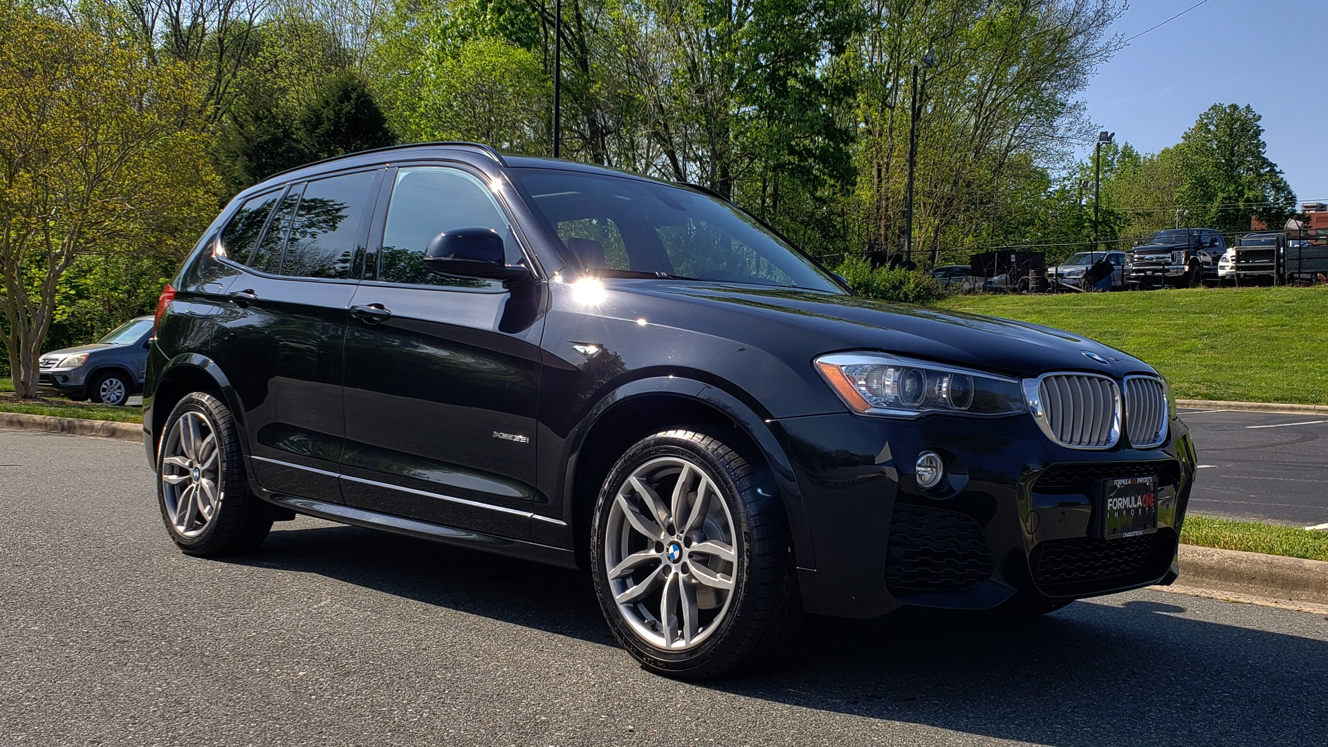 Used 2017 BMW X3 XDRIVE35I / M-SPORT / DRVR ASST / CLD WTHR / NAV / ROOF / HTD STS for sale Sold at Formula Imports in Charlotte NC 28227 4