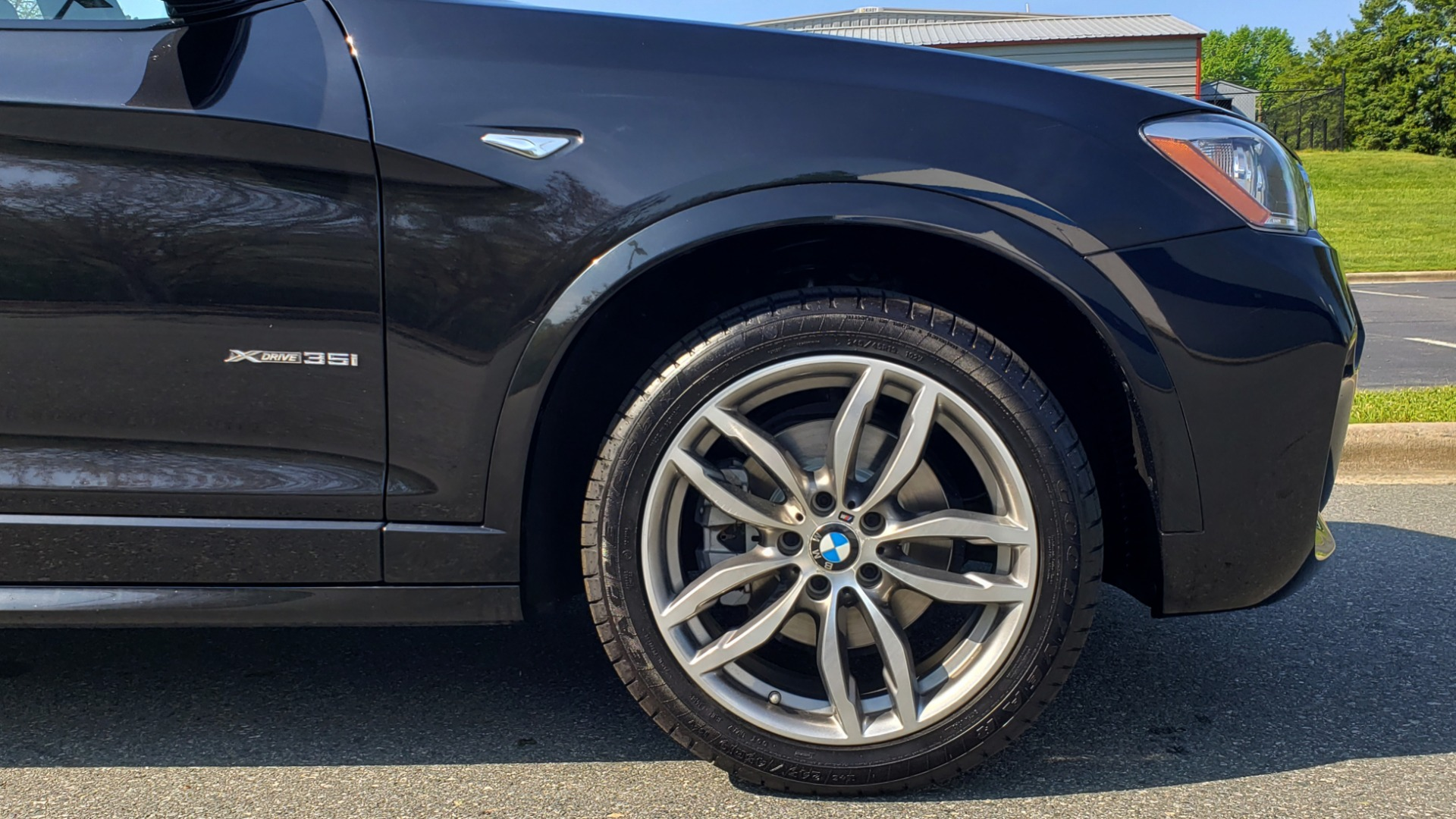 Used 2017 BMW X3 XDRIVE35I / M-SPORT / DRVR ASST / CLD WTHR / NAV / ROOF / HTD STS for sale Sold at Formula Imports in Charlotte NC 28227 88