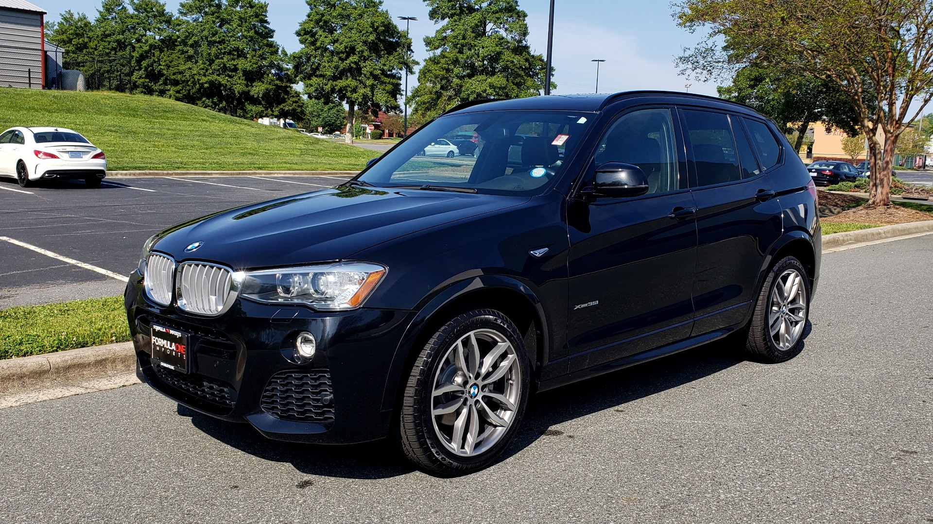 Used 2017 BMW X3 XDRIVE35I / M-SPORT / DRVR ASST / CLD WTHR / NAV / ROOF / HTD STS for sale Sold at Formula Imports in Charlotte NC 28227 1