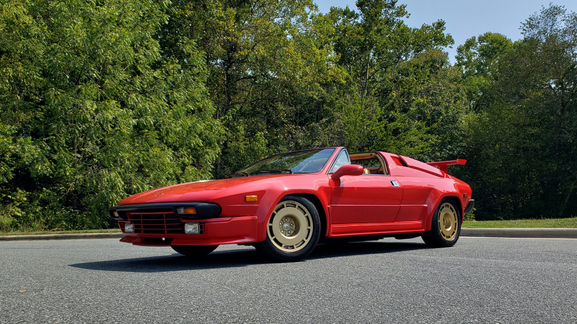 Used 1988 Lamborghini Jalpa 3.5 / 5-Speed Man / Low Miles / Excellent Condition for sale $108,995 at Formula Imports in Charlotte NC 28227 20
