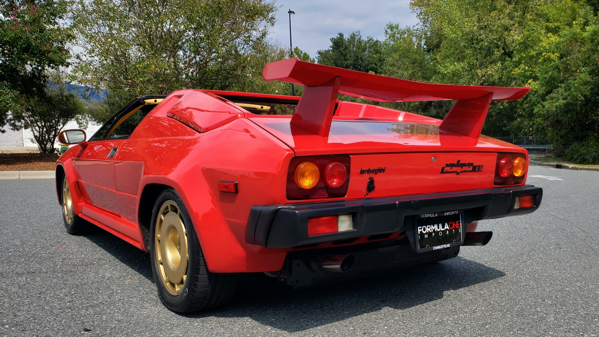 Used 1988 Lamborghini Jalpa 3.5 / 5-Speed Man / Low Miles / Excellent Condition for sale $108,995 at Formula Imports in Charlotte NC 28227 26