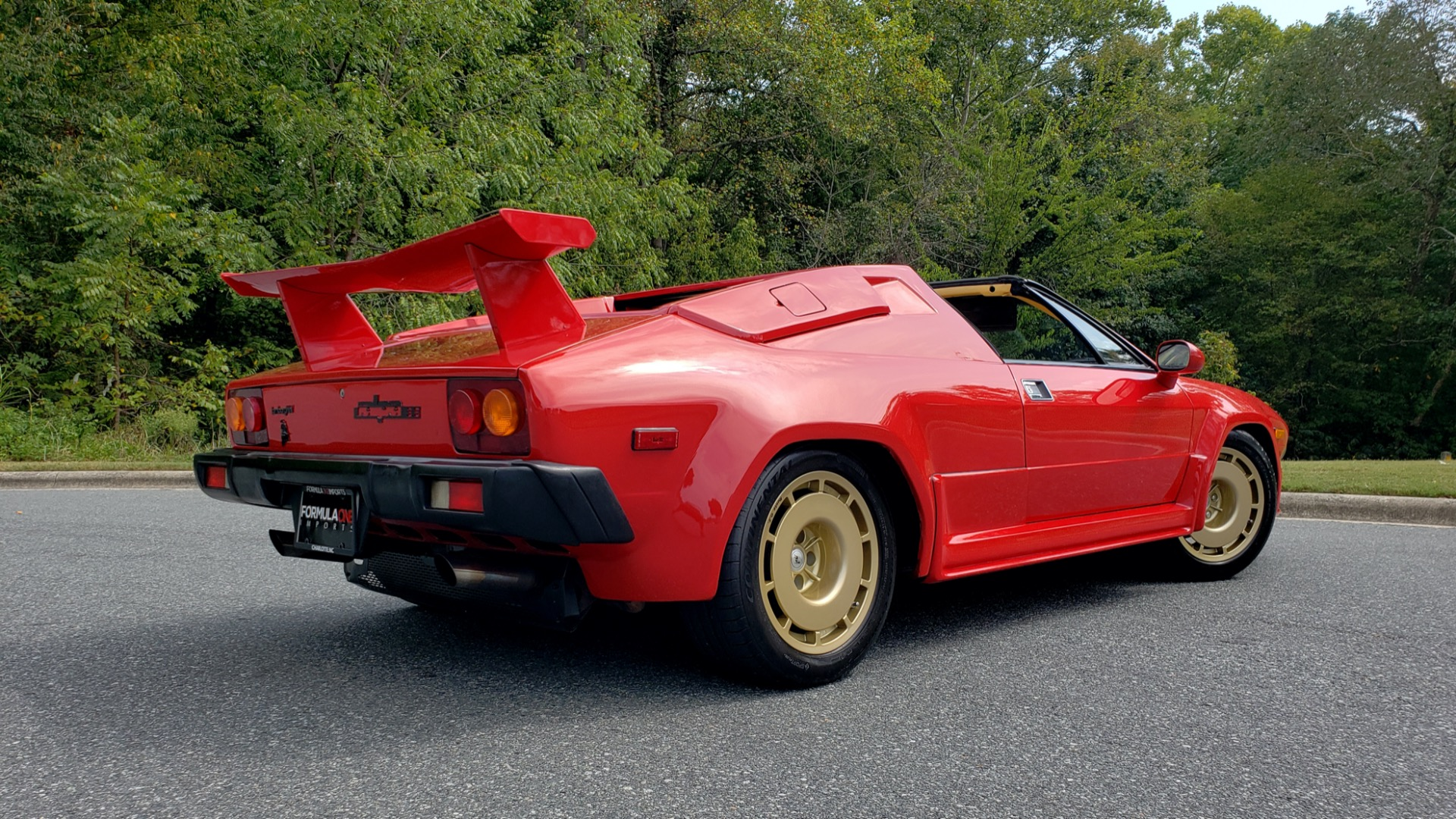 Used 1988 Lamborghini JALPA 3.5 / 5-SPD MANUAL / LOW MILES / EXCELLENT CONDITION for sale Sold at Formula Imports in Charlotte NC 28227 29