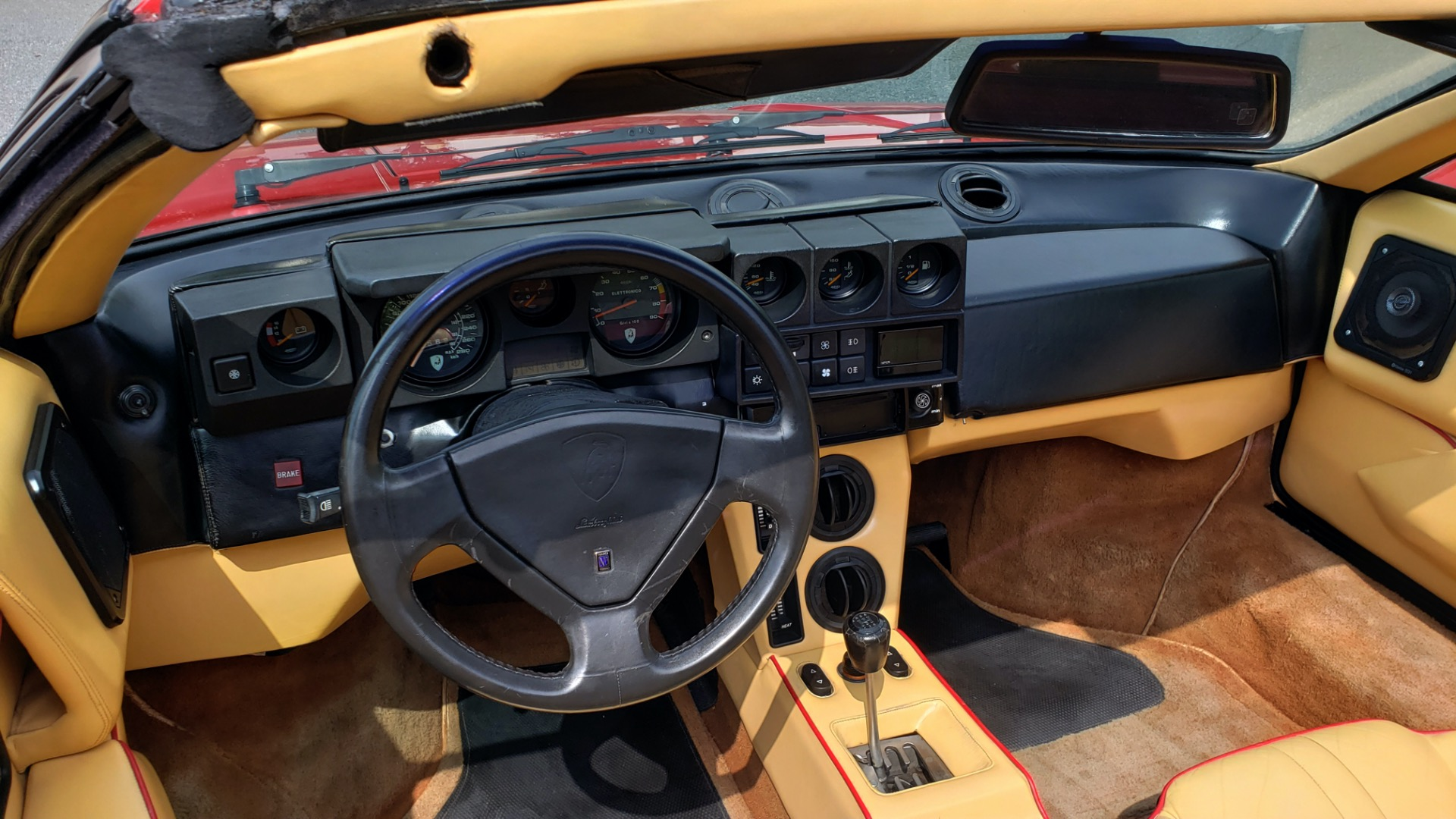 Used 1988 Lamborghini Jalpa 3.5 / 5-Speed Man / Low Miles / Excellent Condition for sale $108,995 at Formula Imports in Charlotte NC 28227 33