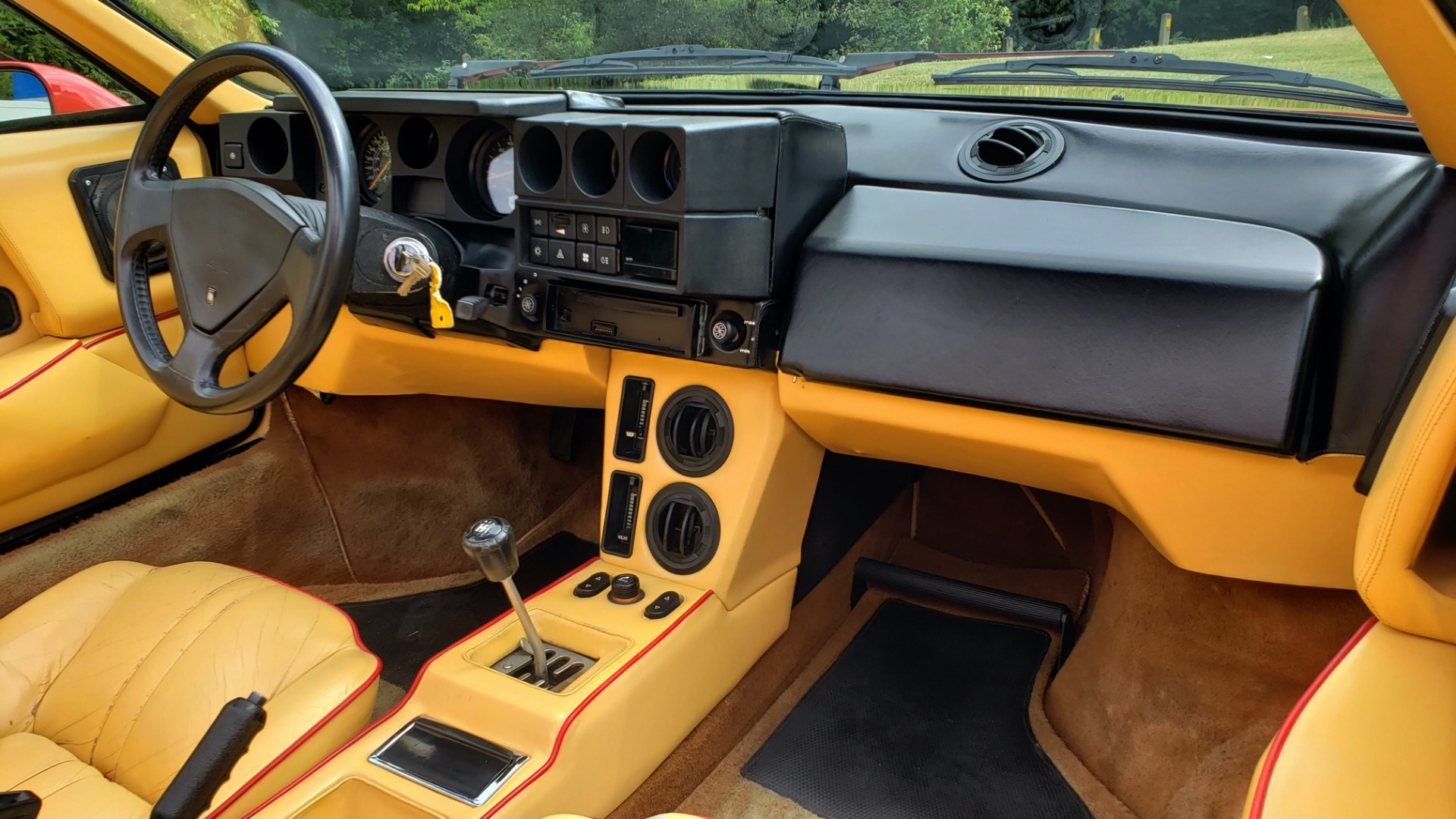 Used 1988 Lamborghini Jalpa 3.5 / 5-Speed Man / Low Miles / Excellent Condition for sale $108,995 at Formula Imports in Charlotte NC 28227 51