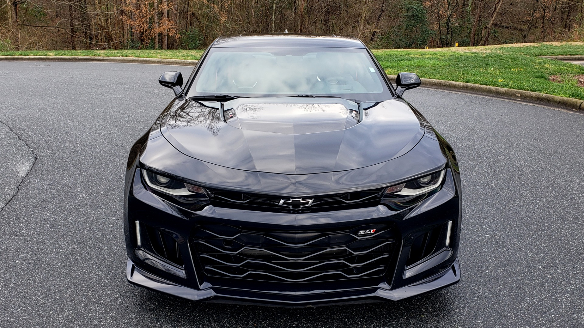 Used 2018 Chevrolet CAMARO ZL1 6.2L SUPERCHARGED V8 650 / NAV / SUNROOF / REARVIEW for sale Sold at Formula Imports in Charlotte NC 28227 27