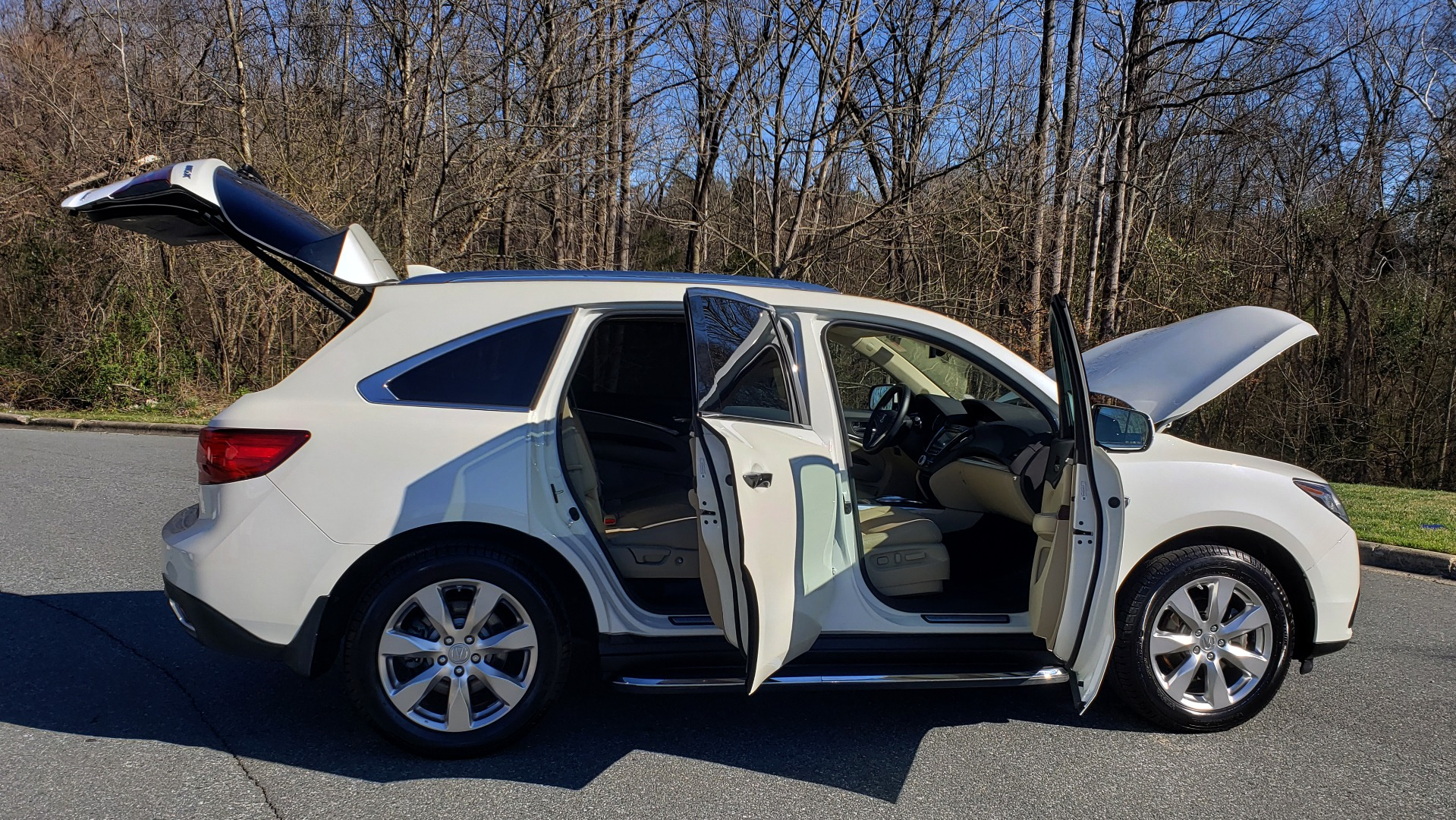 Used 2016 Acura MDX AWD W/ADVANCED PKG / NAV / SUNROOF / REARVIEW / 3-ROW for sale Sold at Formula Imports in Charlotte NC 28227 10
