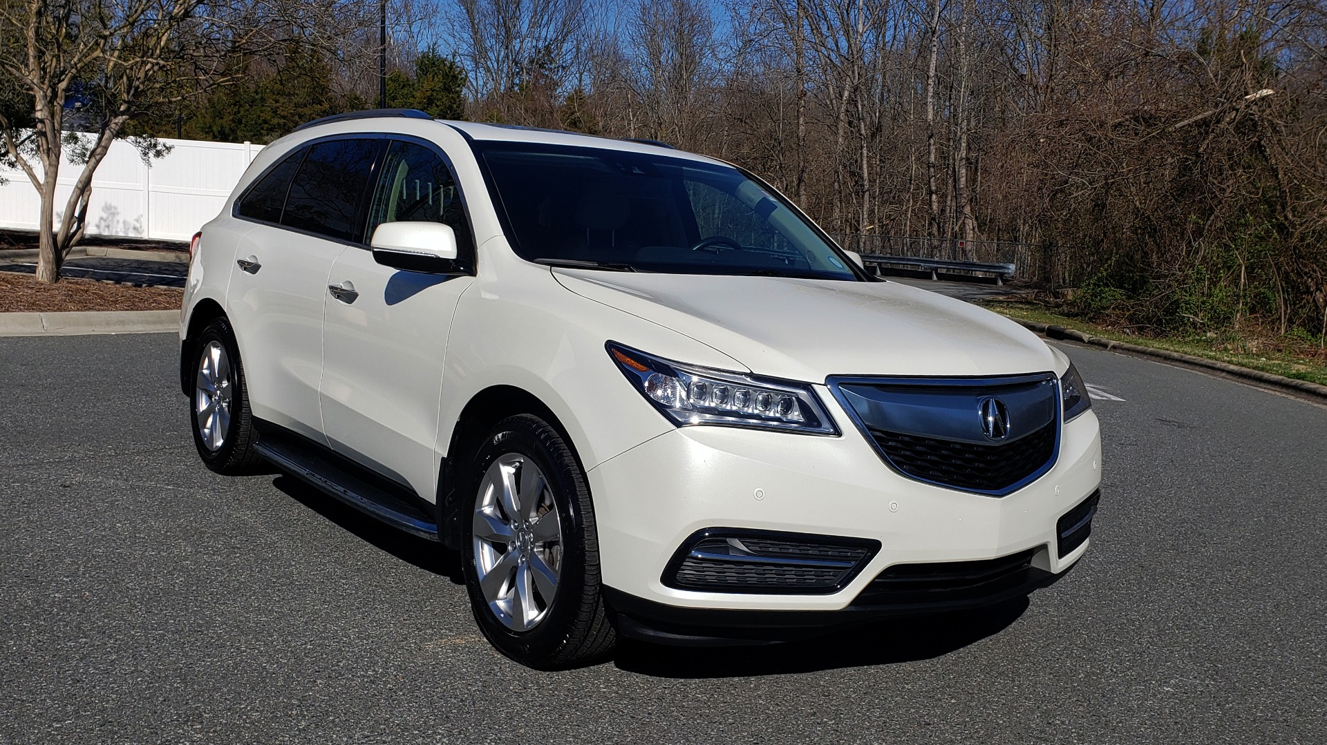 Used 2016 Acura MDX AWD W/ADVANCED PKG / NAV / SUNROOF / REARVIEW / 3-ROW for sale Sold at Formula Imports in Charlotte NC 28227 4