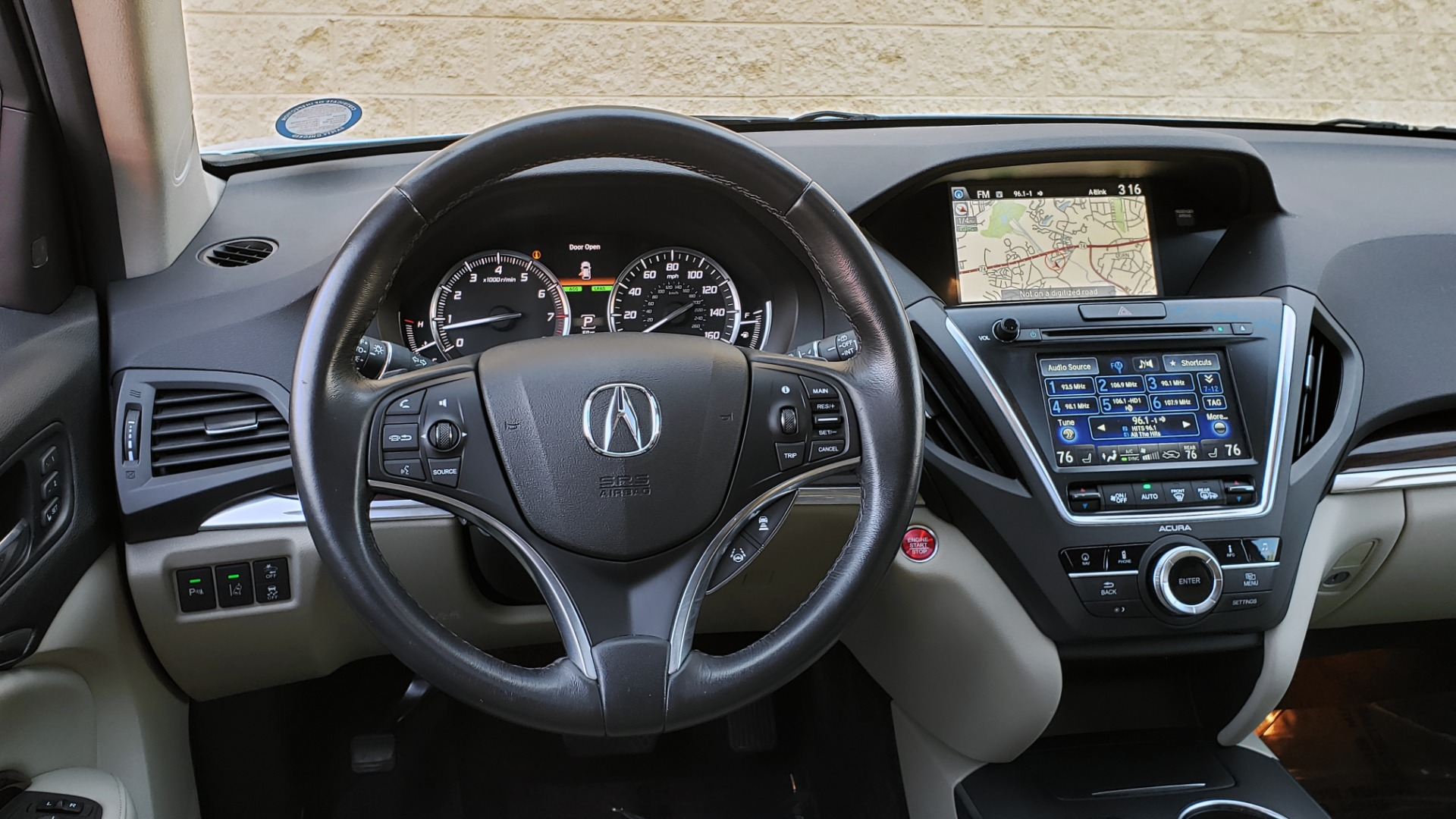 Used 2016 Acura MDX AWD W/ADVANCED PKG / NAV / SUNROOF / REARVIEW / 3-ROW for sale Sold at Formula Imports in Charlotte NC 28227 42