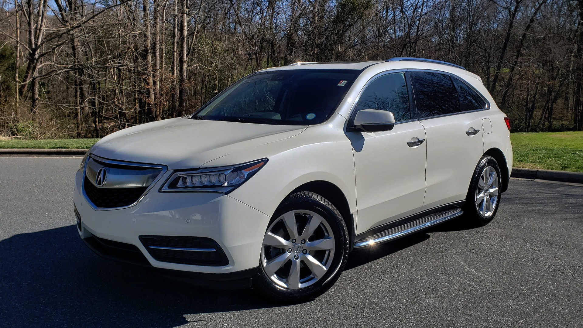 Used 2016 Acura MDX AWD W/ADVANCED PKG / NAV / SUNROOF / REARVIEW / 3-ROW for sale Sold at Formula Imports in Charlotte NC 28227 1