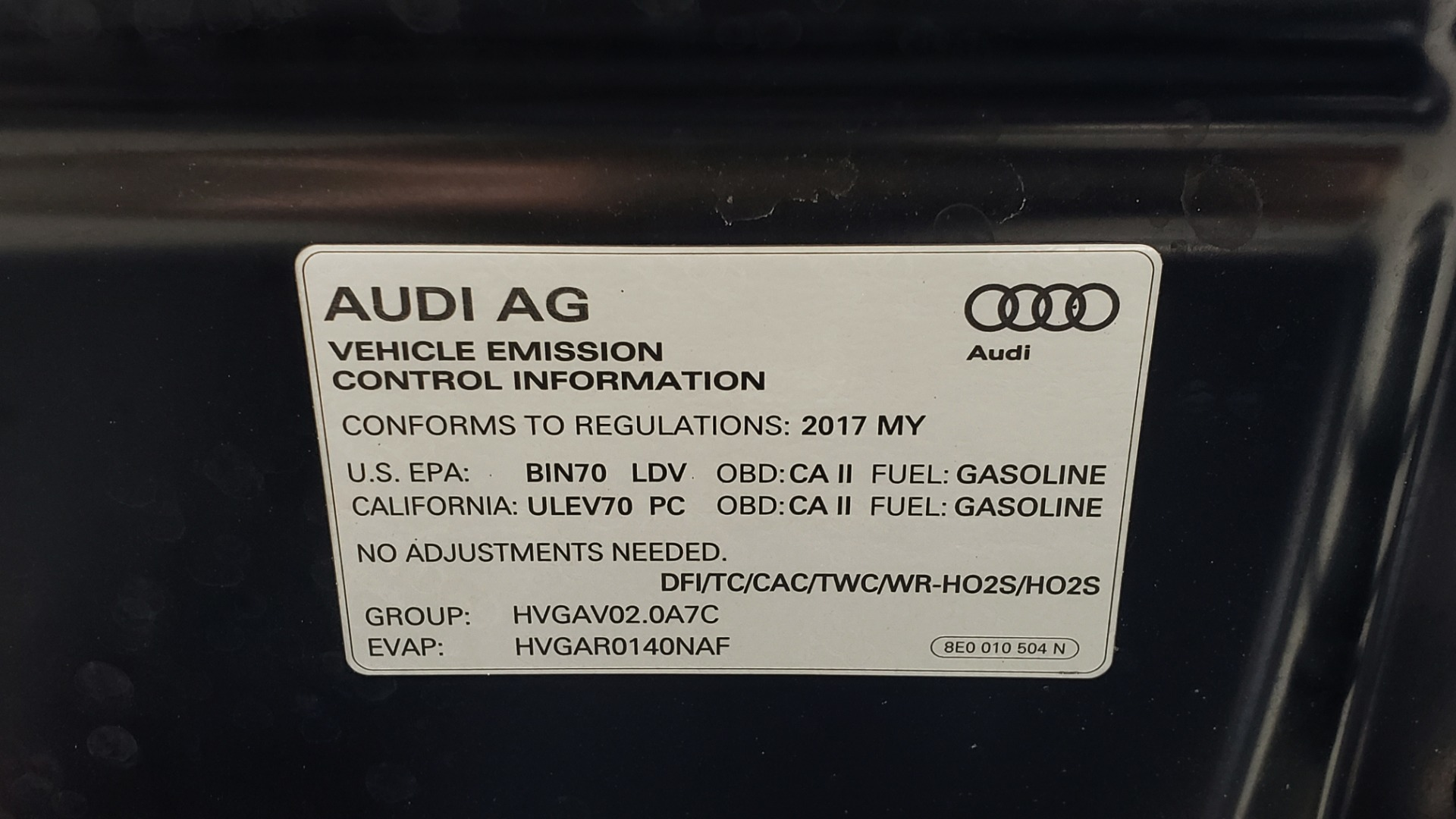 Used 2017 Audi A6 PREMIUM PLUS / NAV / SUNROOF / BOSE / CLD WTHR for sale Sold at Formula Imports in Charlotte NC 28227 13