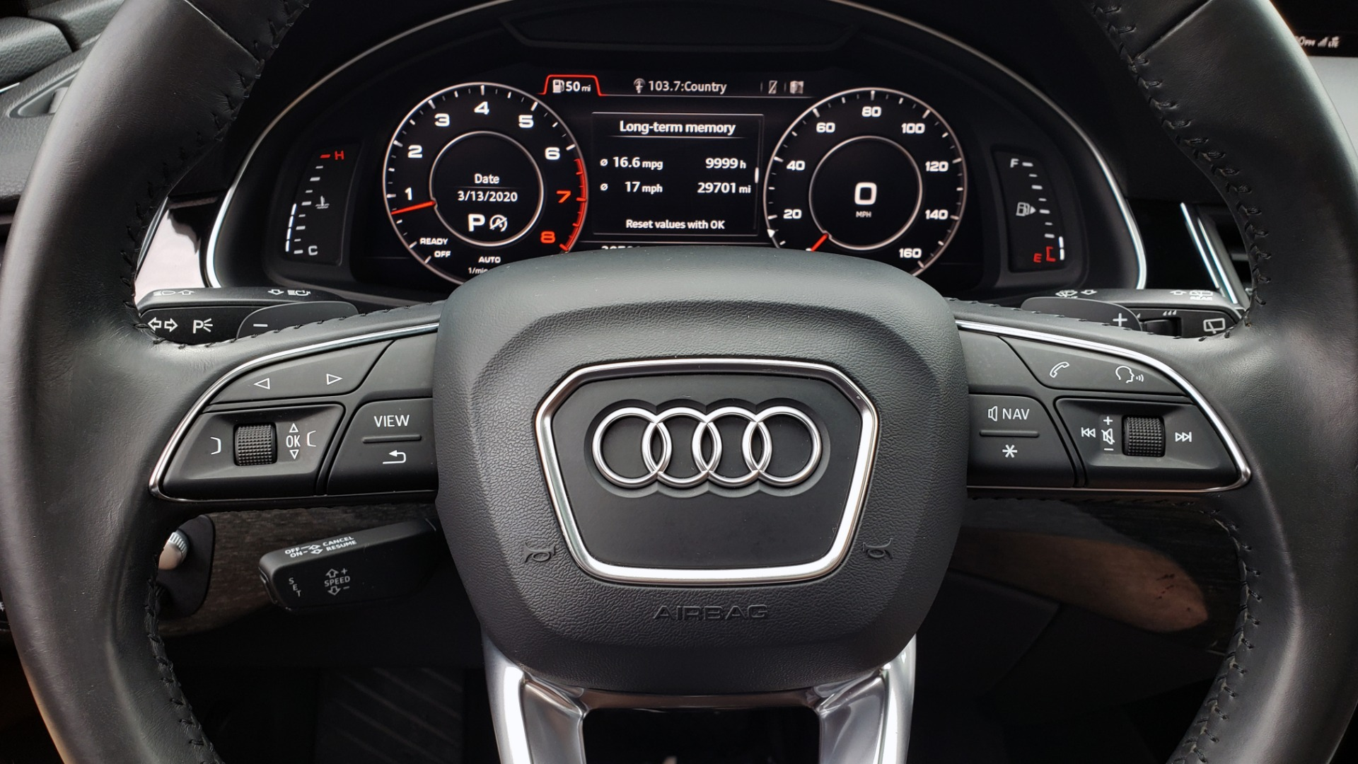 Used 2017 Audi Q7 PRESTIGE 3.0T / AWD / NAV / PANO-ROOF / HTD STS / BOSE / VISION for sale Sold at Formula Imports in Charlotte NC 28227 47