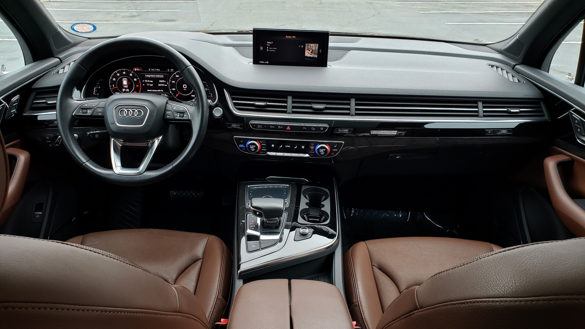 Used 2017 Audi Q7 PRESTIGE 3.0T / AWD / NAV / PANO-ROOF / HTD STS / BOSE / VISION for sale Sold at Formula Imports in Charlotte NC 28227 90
