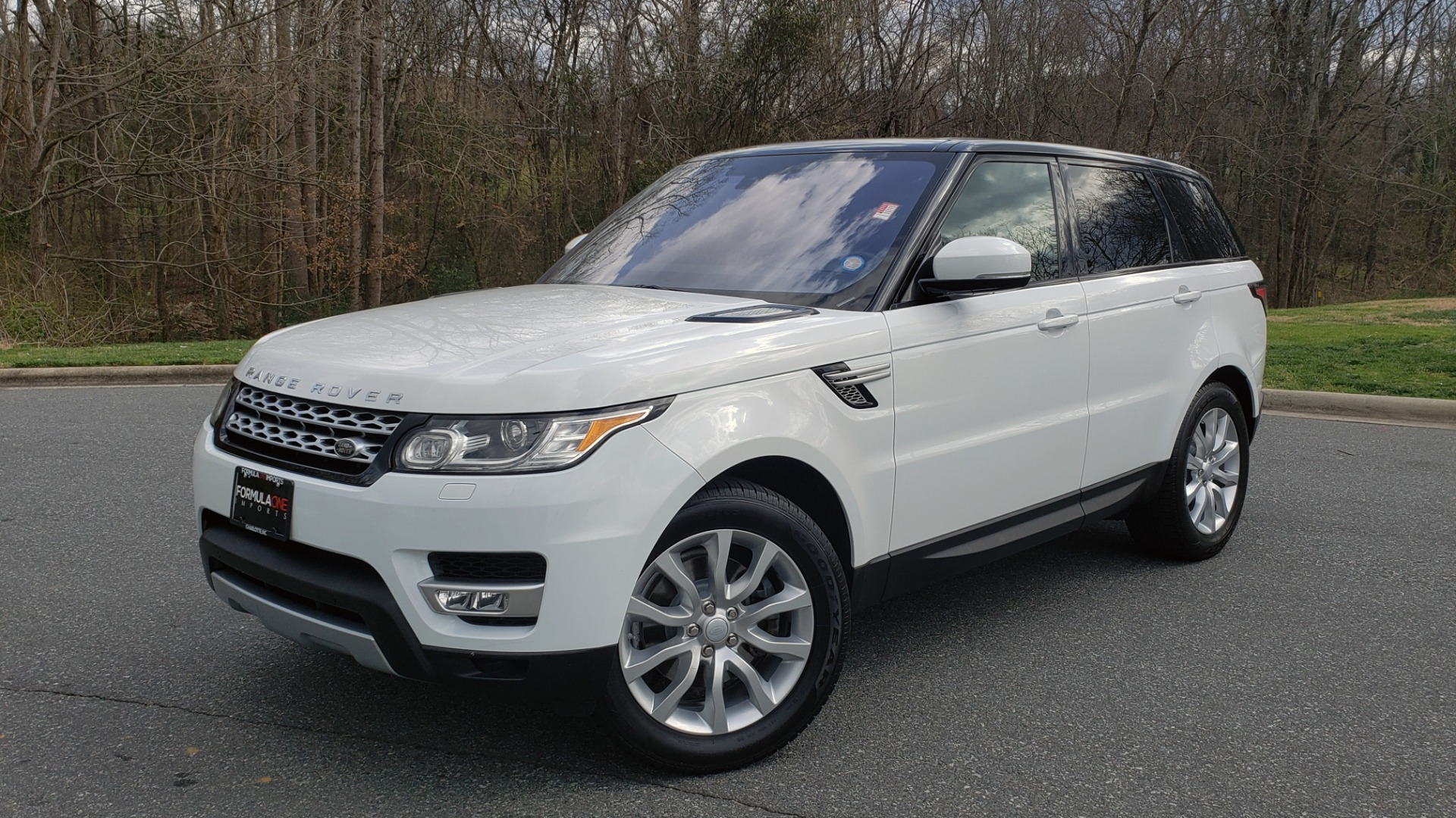 Used 2016 Land Rover RANGE ROVER SPORT V6 HSE 4WD / NAV / SUNROOF / MERIDIAN / REARVIEW for sale Sold at Formula Imports in Charlotte NC 28227 1