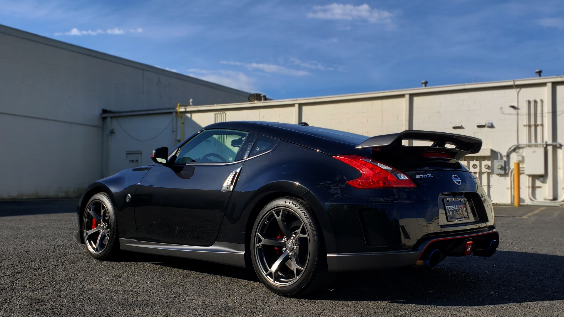 Used 2014 Nissan 370Z for sale Sold at Formula Imports in Charlotte NC 28227 3