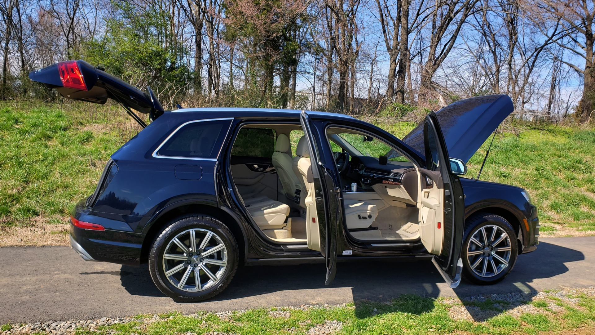 Used 2018 Audi Q7 PRESTIGE 3.0T CLD WTHR / NAV / BOSE / HEADS-UP / REARVIEW for sale Sold at Formula Imports in Charlotte NC 28227 15